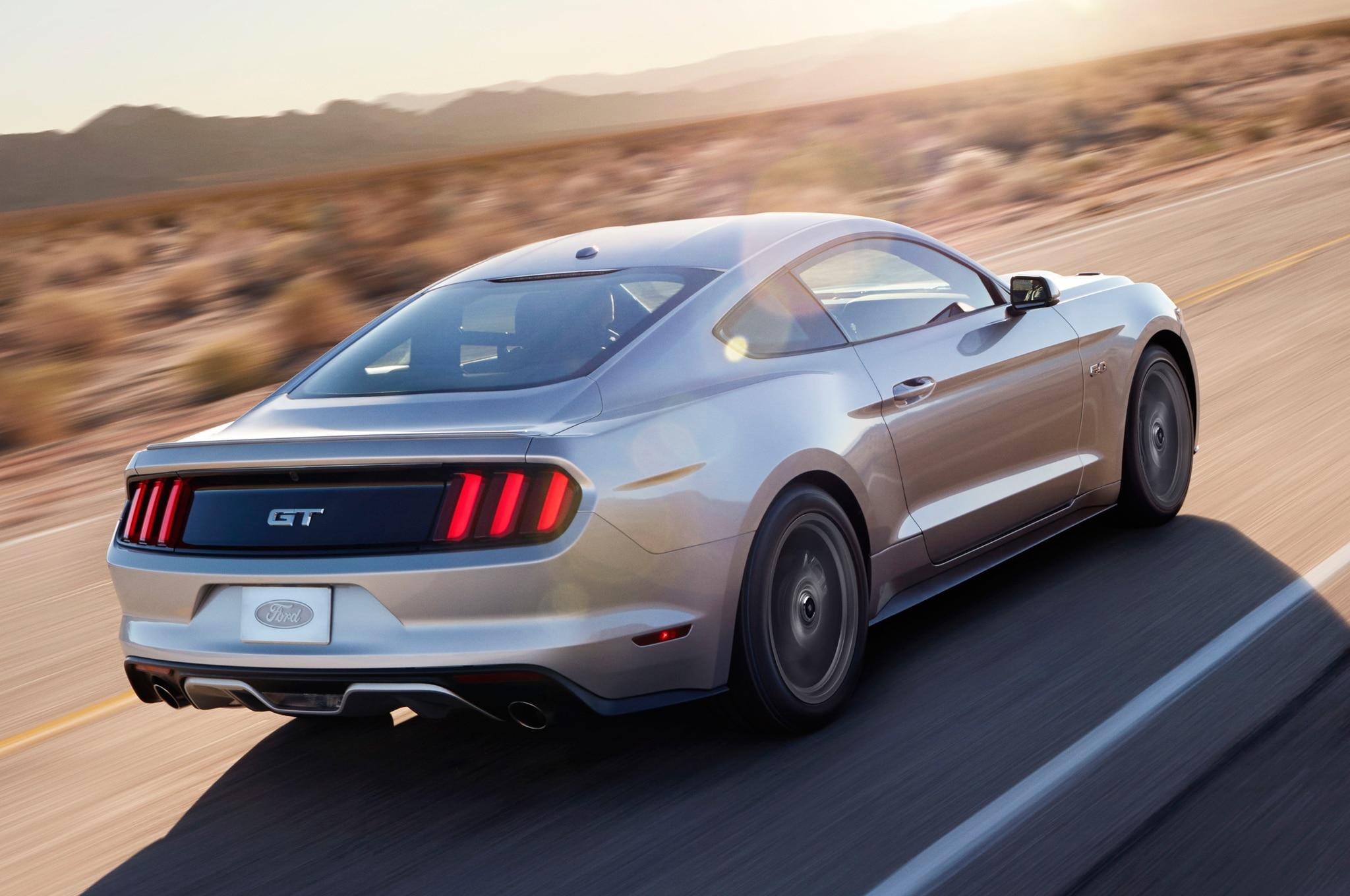 Oficial Mejoran Cifras De Mpg De Ford Mustang  Gt Y V