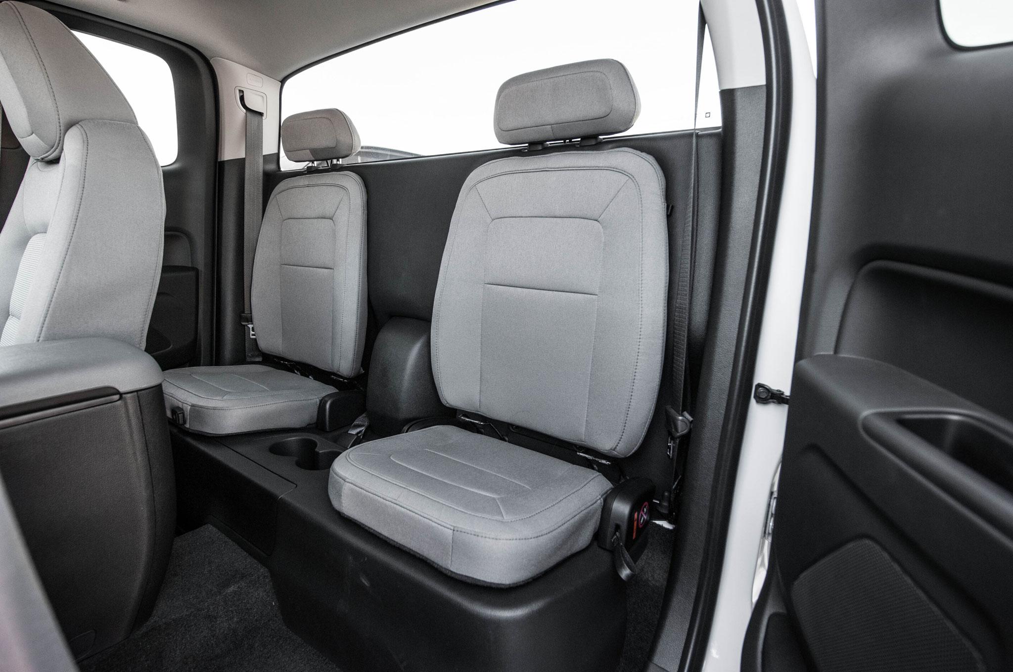 Chevrolet Colorado WT 2.5 2015: Primera Prueba