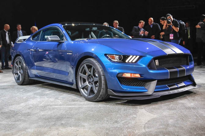Ford Shelby GT350R Mustang Homepage