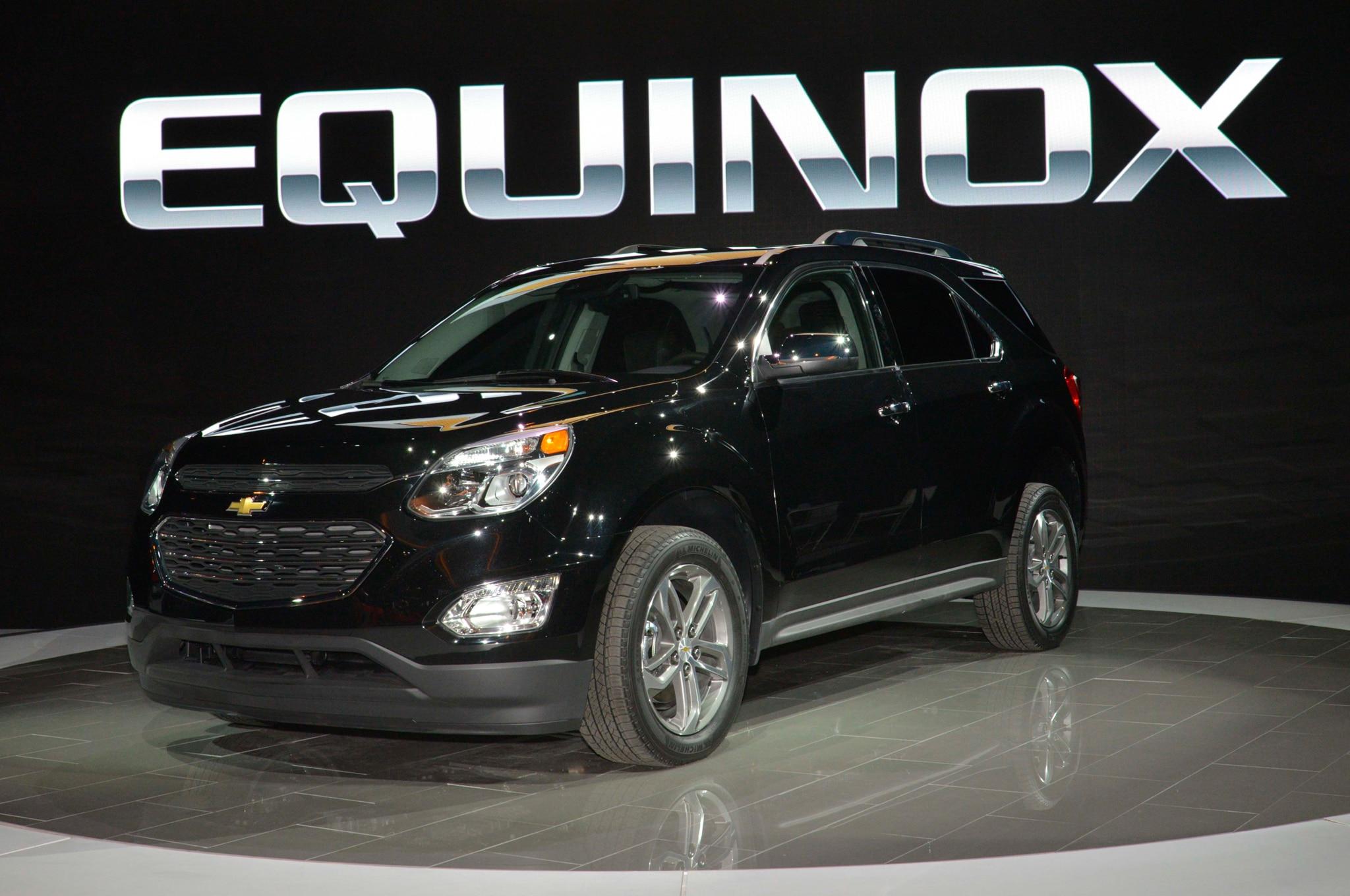 Chevrolet Equinox 2016: Primer Vistazo