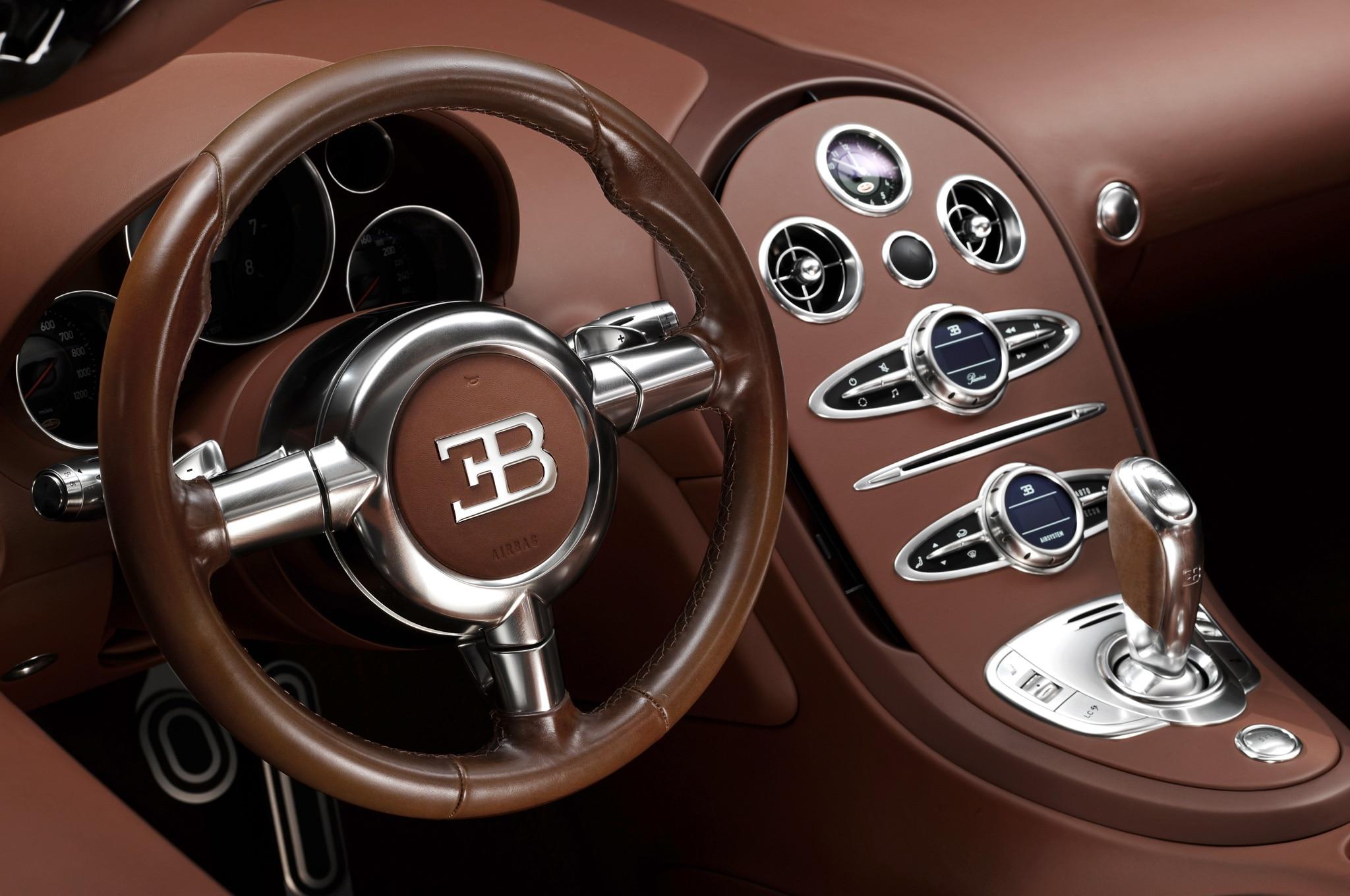 Bugatti veyron interior 2015