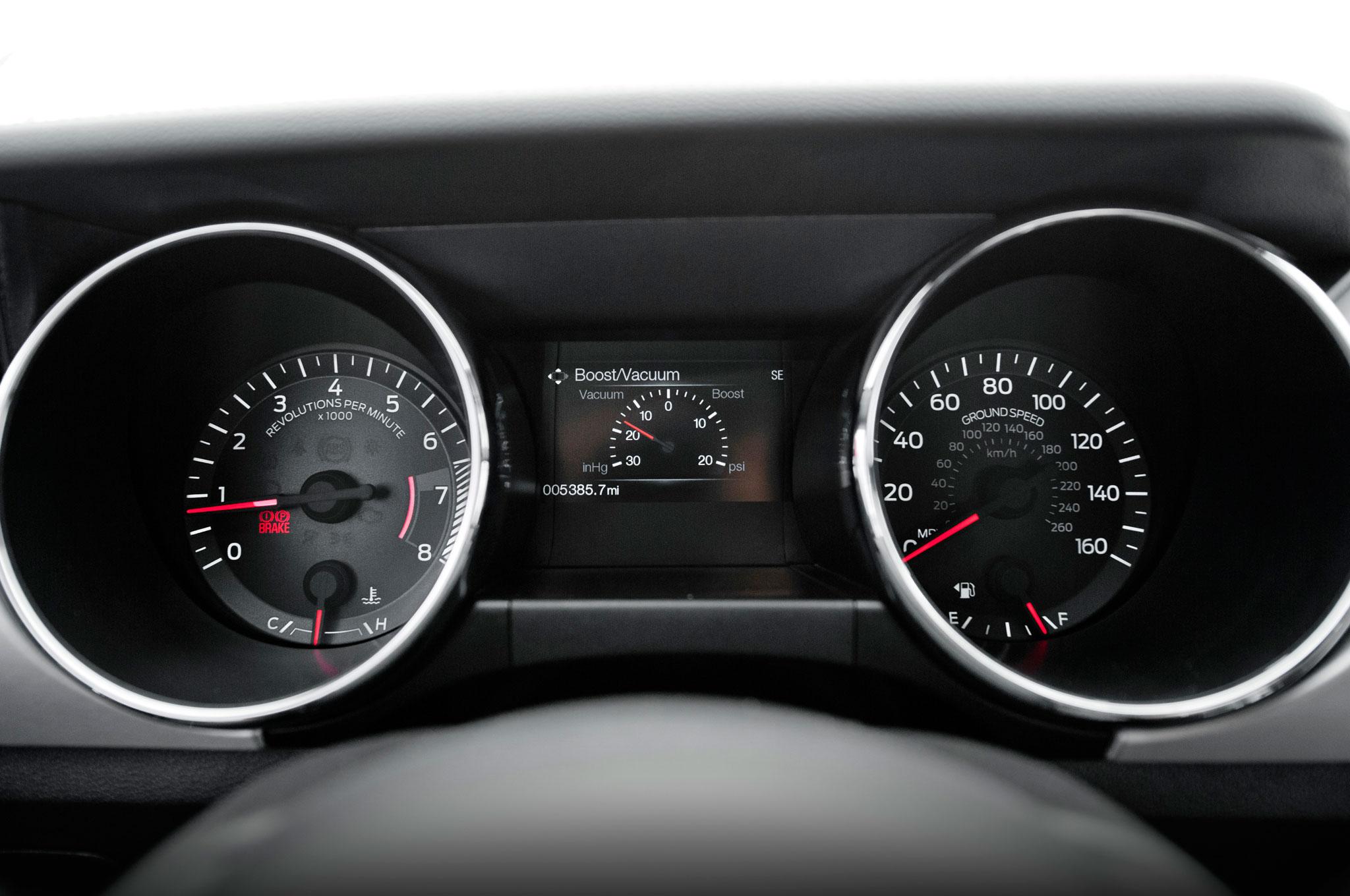 Ford Mustang 2015 EcoBoost y transmisión manual: Primera ...