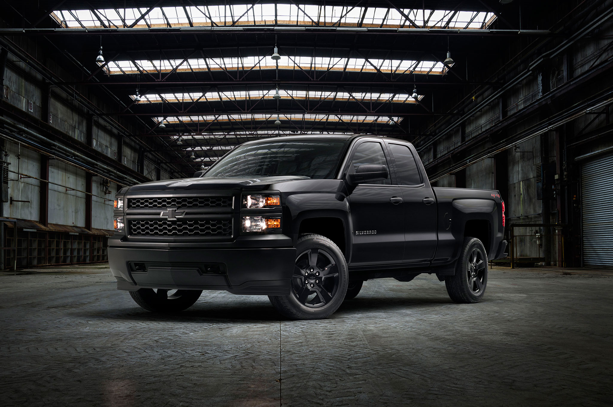 Chevrolet Silverado 1500 W/T Black Out 2015: apariencia ...