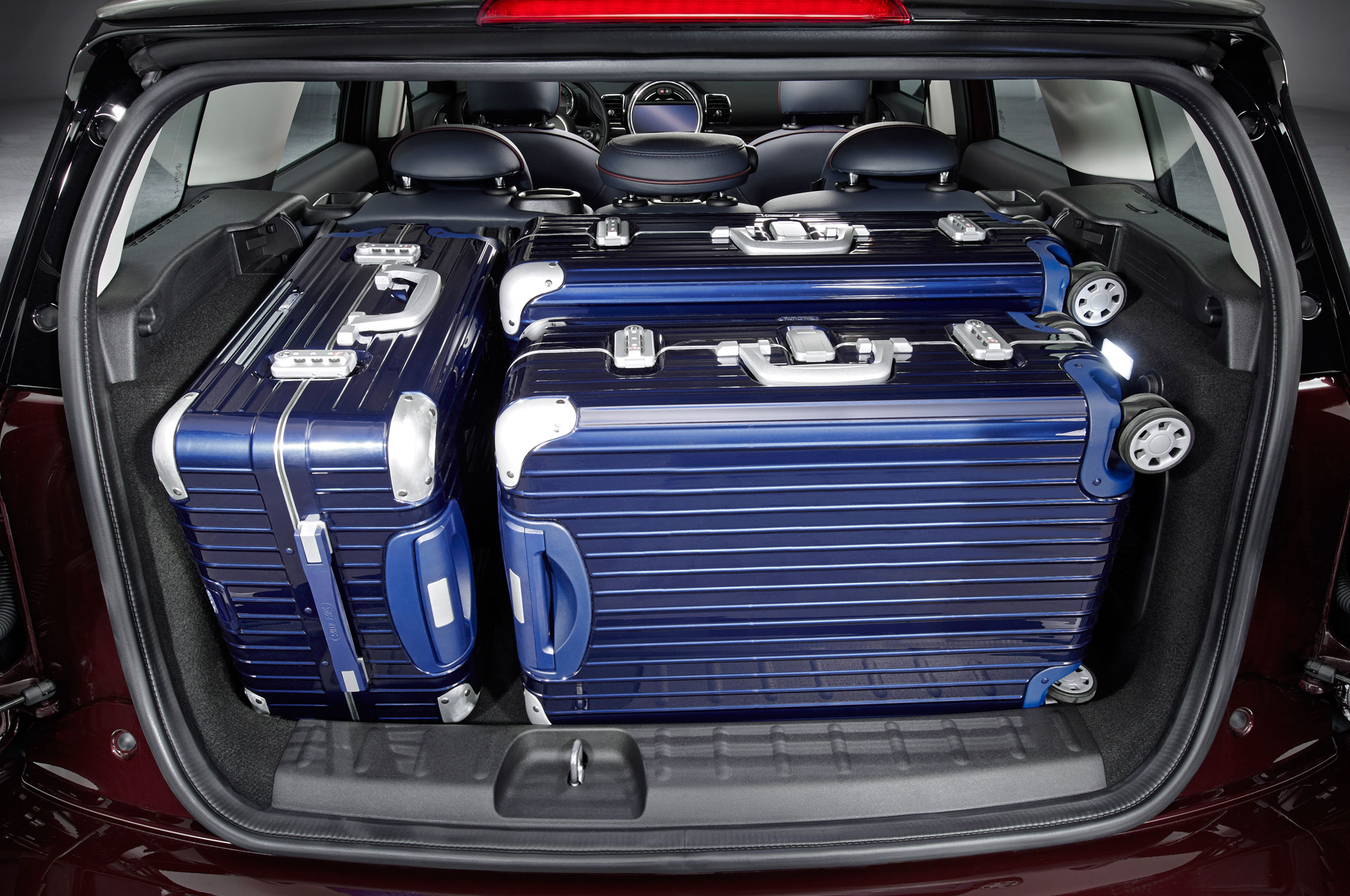 2016 Mini Clubman Interior Cargo Area With Luggage Motor Trend En