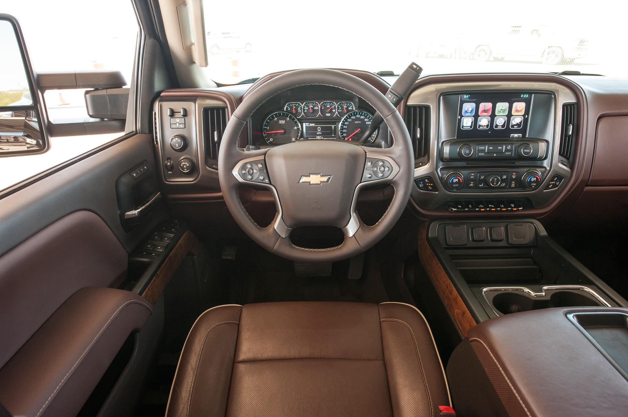 Chevrolet Silverado HD 2016 adopta nueva tecnología