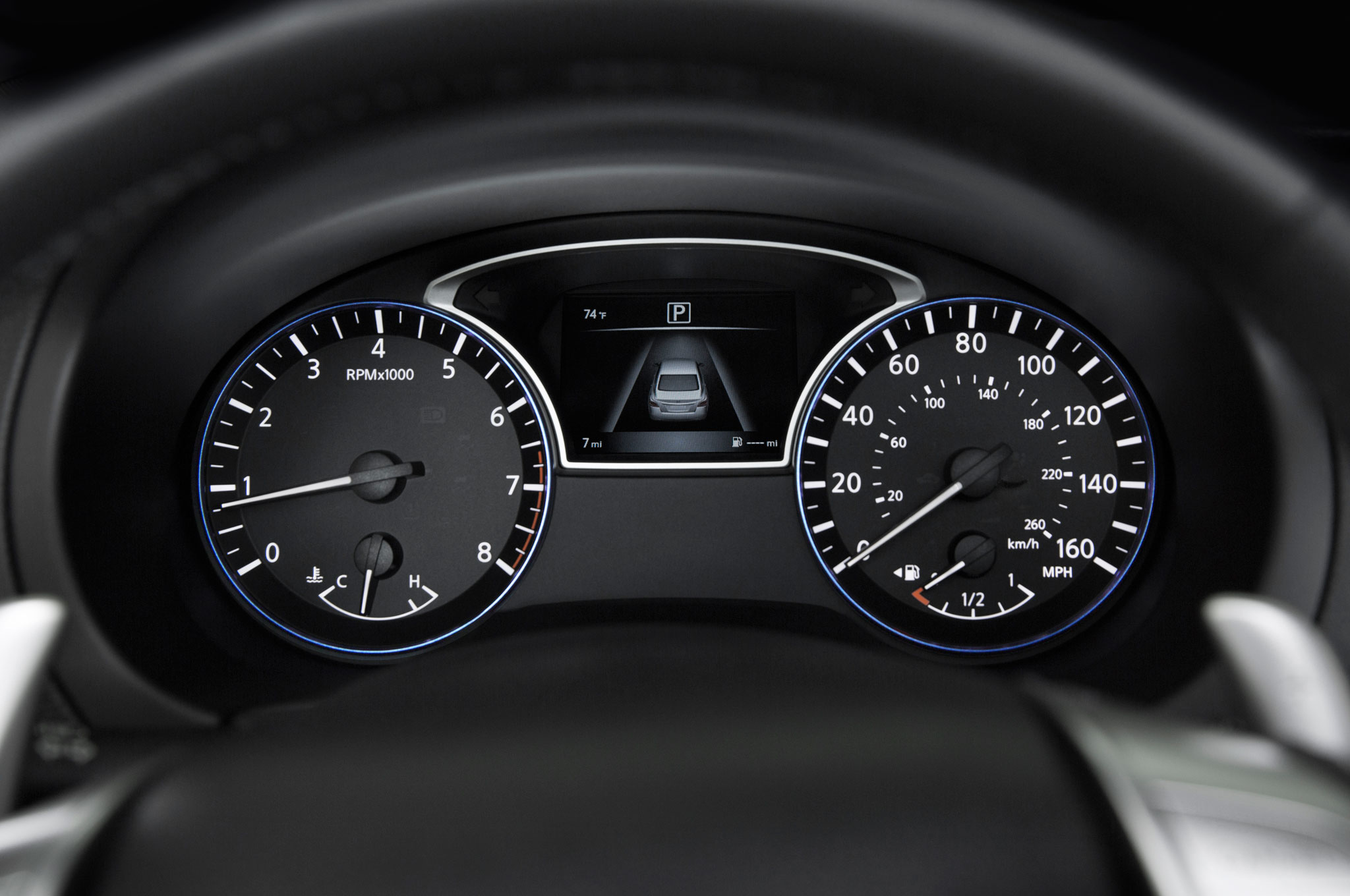 2016 Nissan Altima Sr Interior Instrument Cluster And