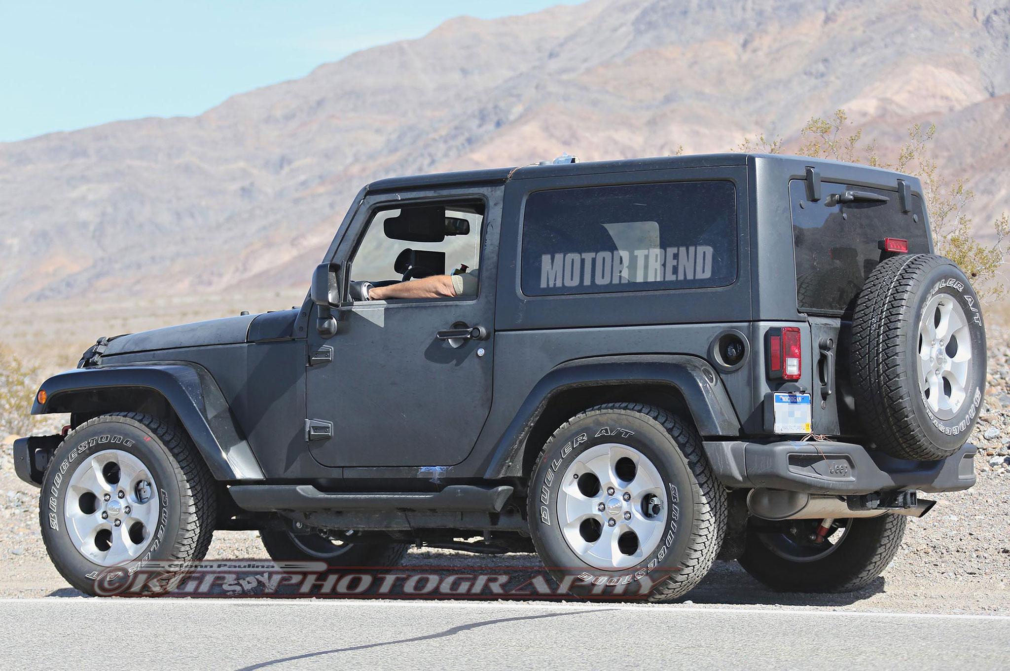 Jeep Wrangler 2017 Lifted >> Jeep Wrangler 2018 es espiado