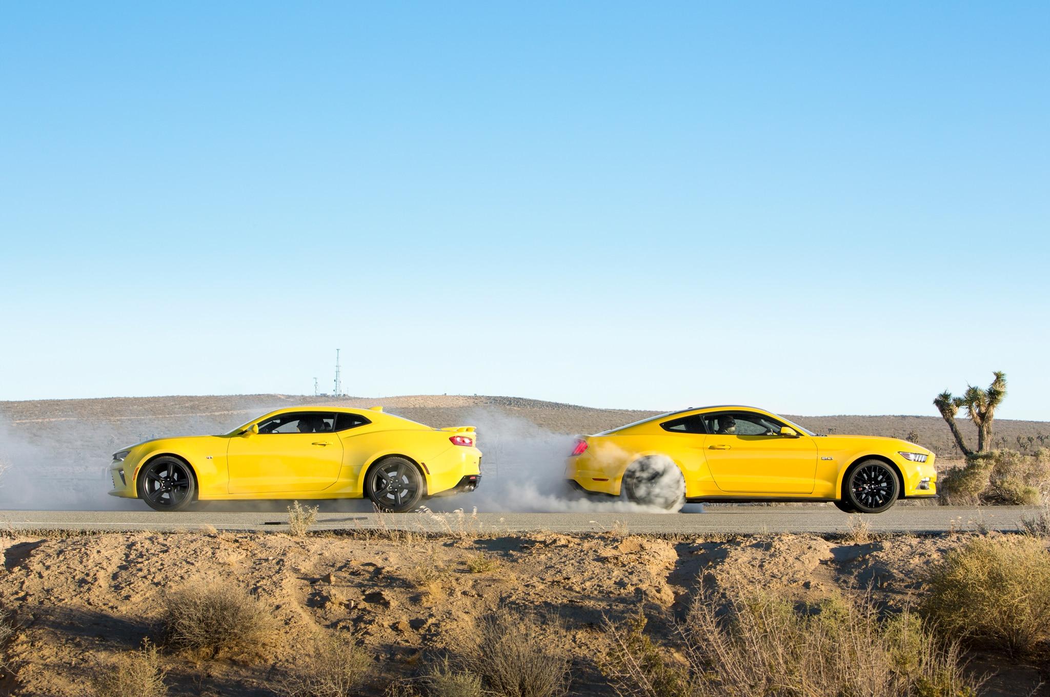 Mustang Vs Camaro Una Rivalidad Absoluta