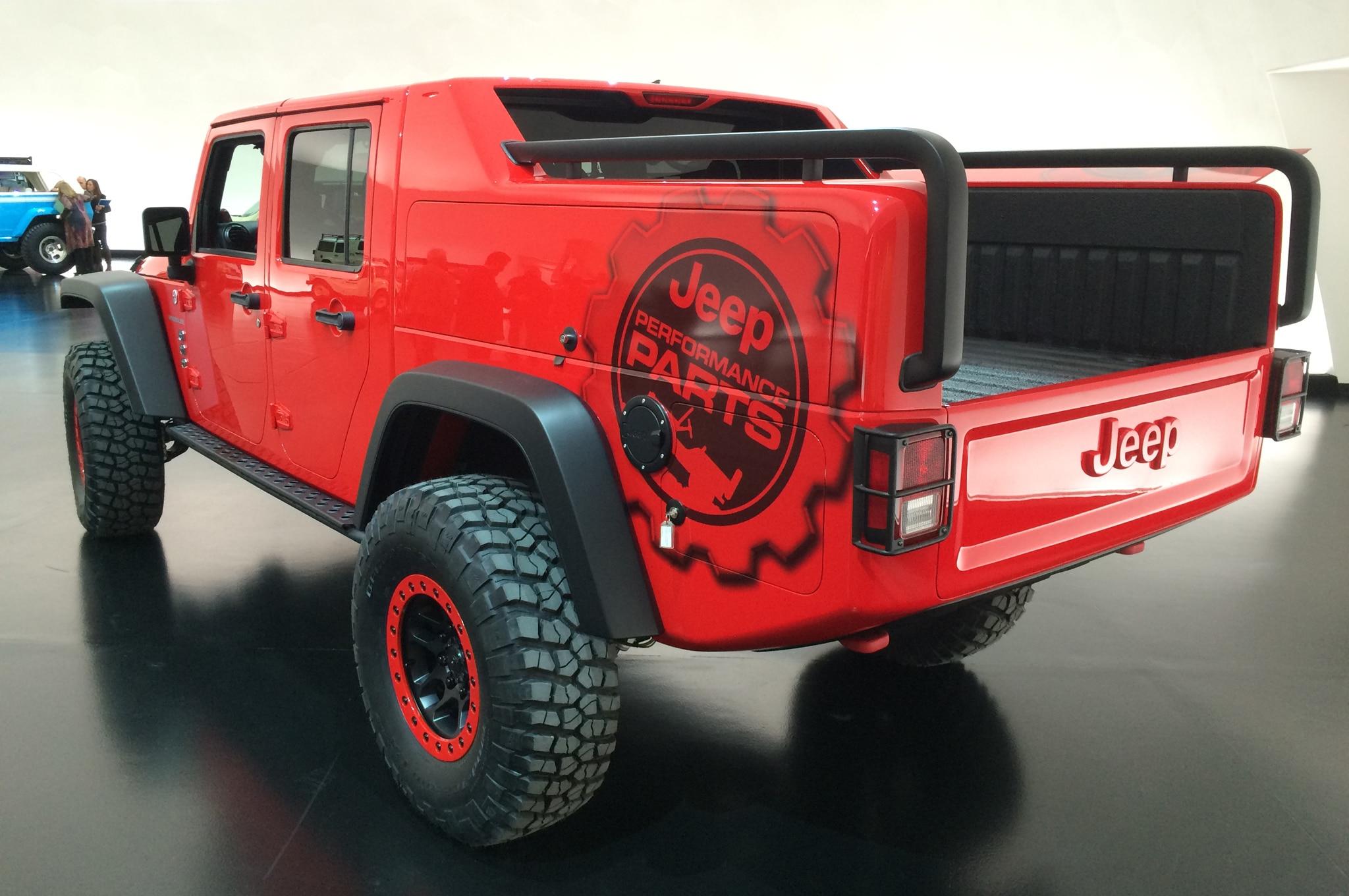 Jeep Wrangler Red Rock Concept es presentado en SEMA