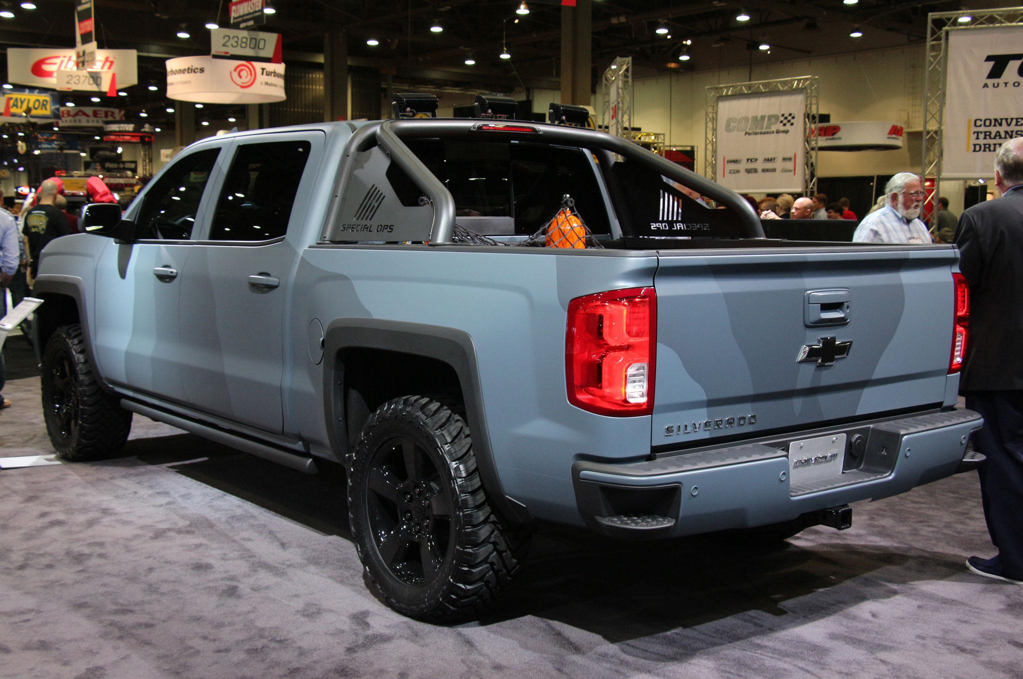 Chevrolet Silverado Special Ops entra en producción