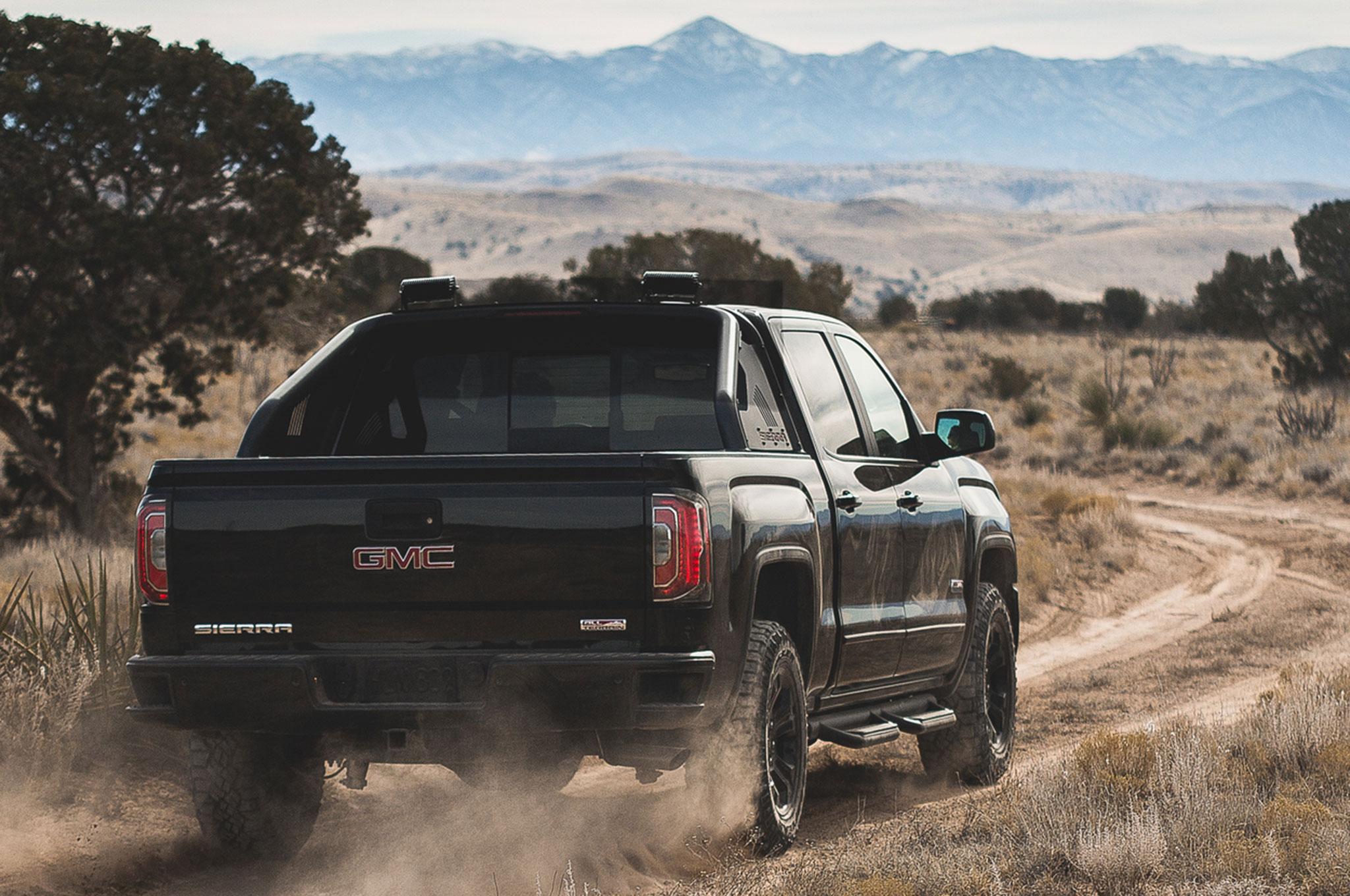 GMC Sierra All Terrain X 2016 se presenta en Texas