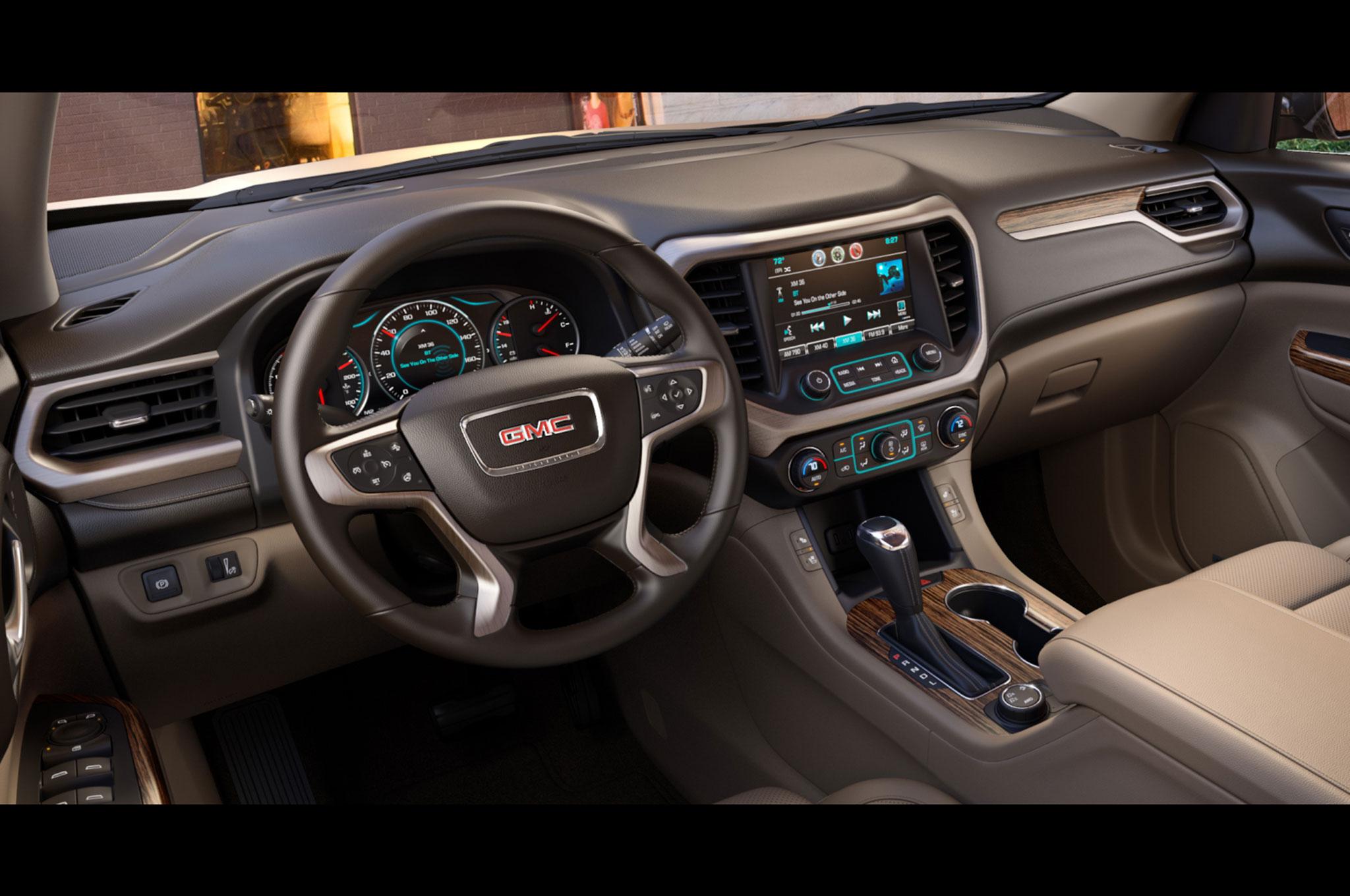 2017-GMC-Acadia-Denali-interior-1 - Motor Trend en Español