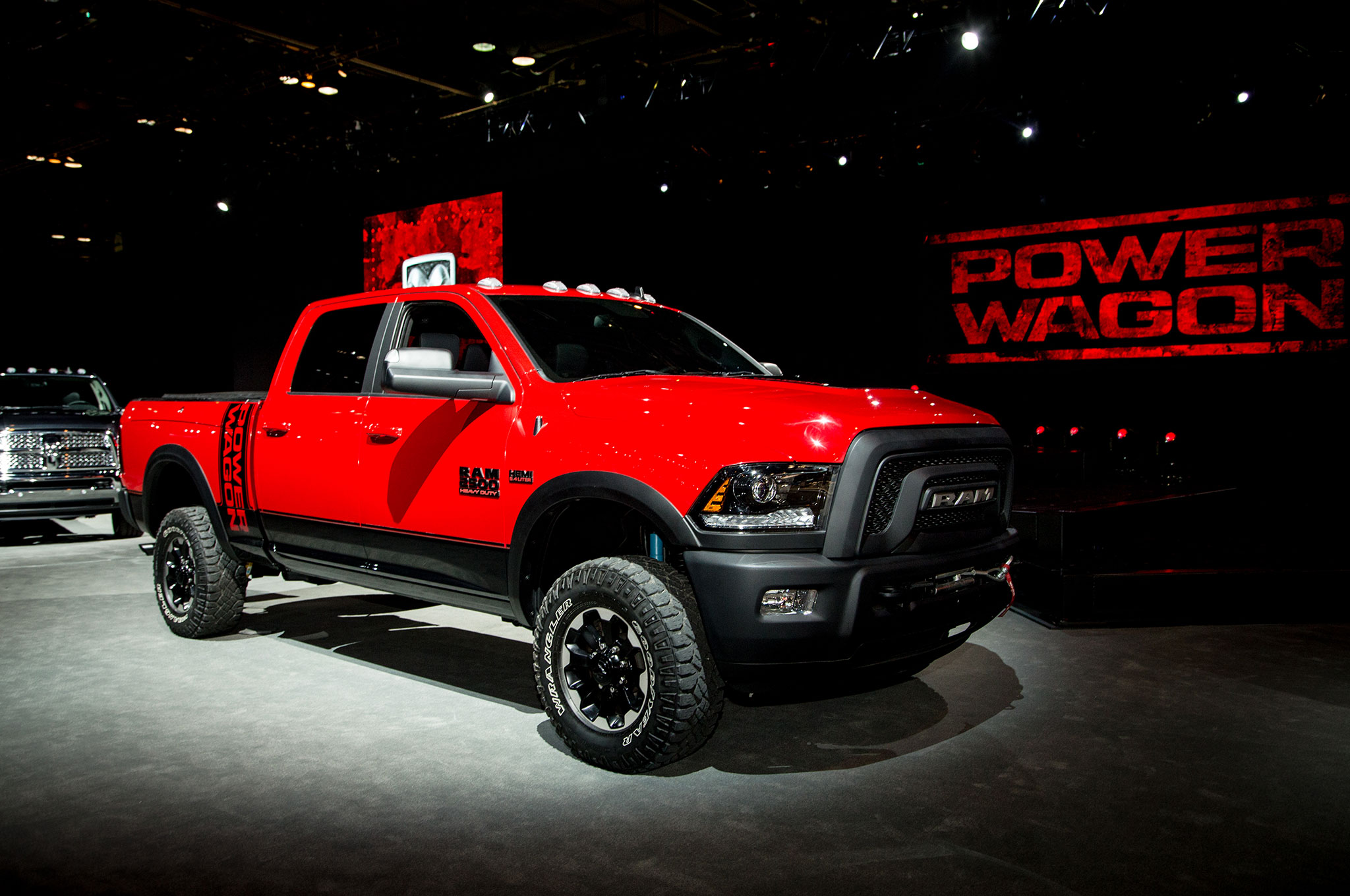 Ram Power Wagon 2017: Primer Vistazo