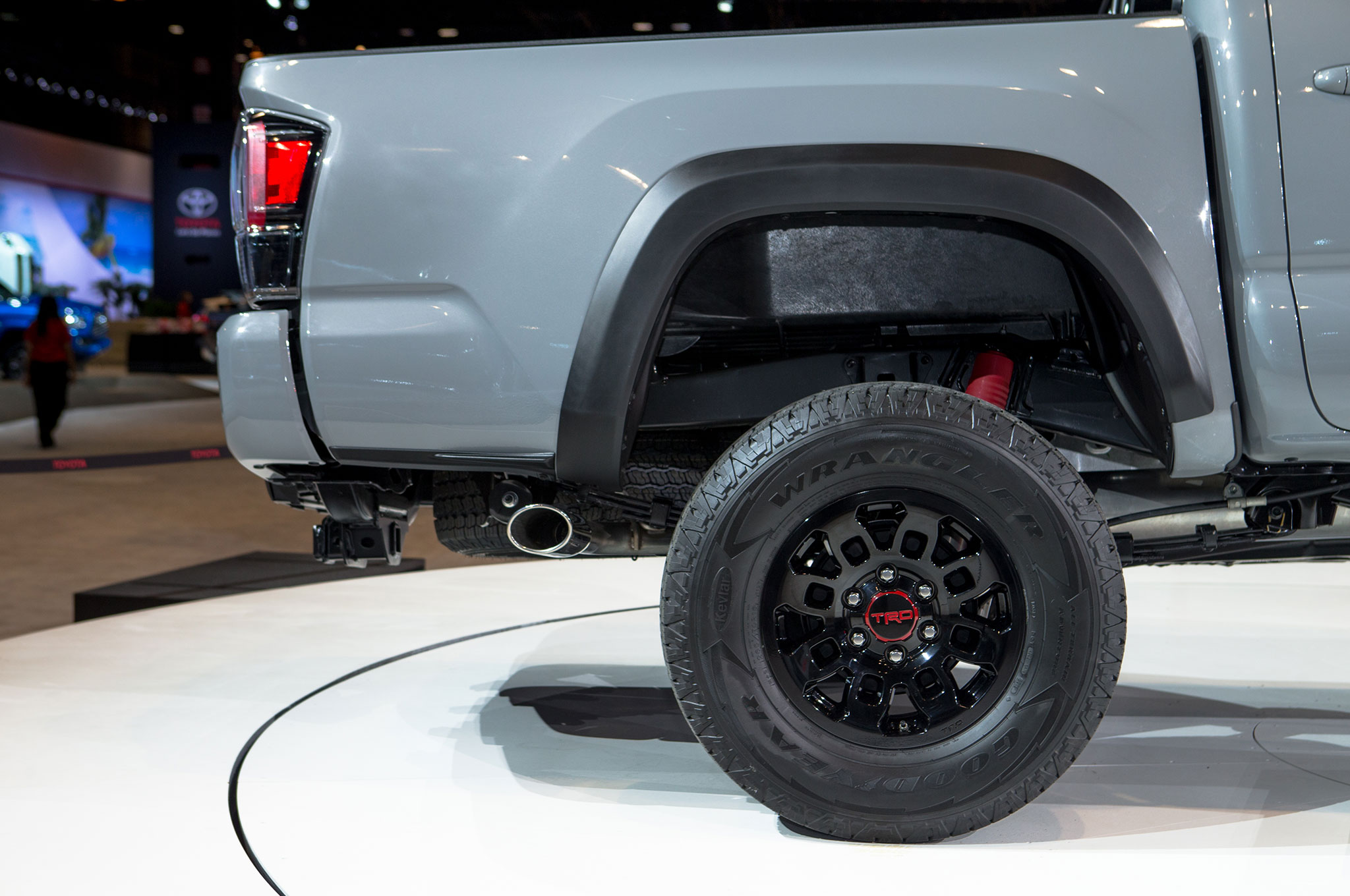 2017 Toyota Tacoma Trd Pro Bed And Wheel