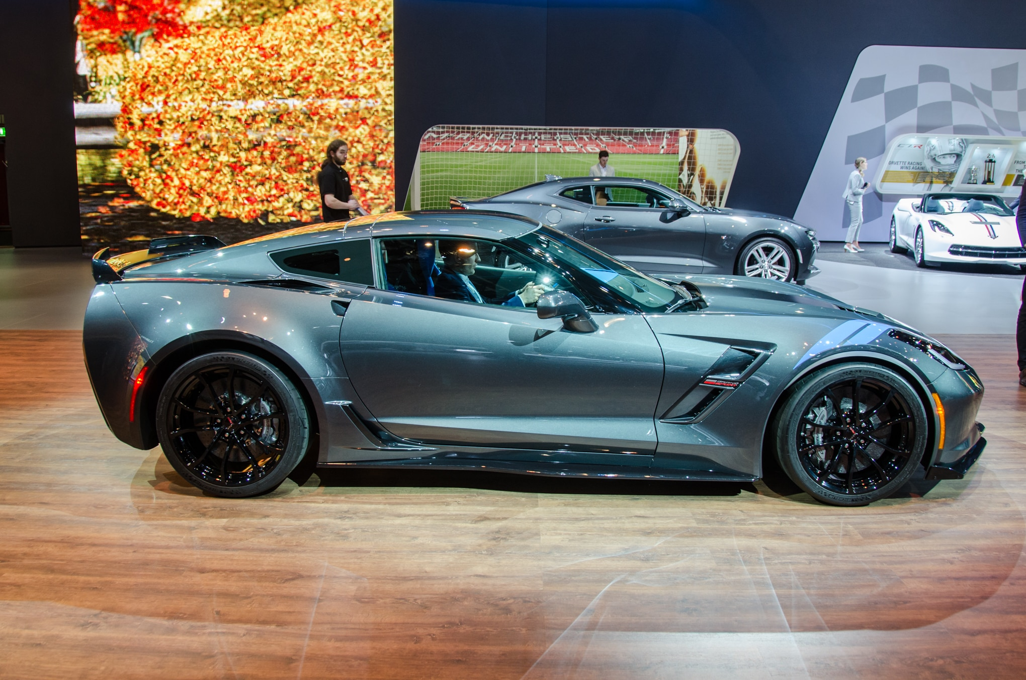 Chevrolet Corvette Grand Sport 2017, con 460 hp