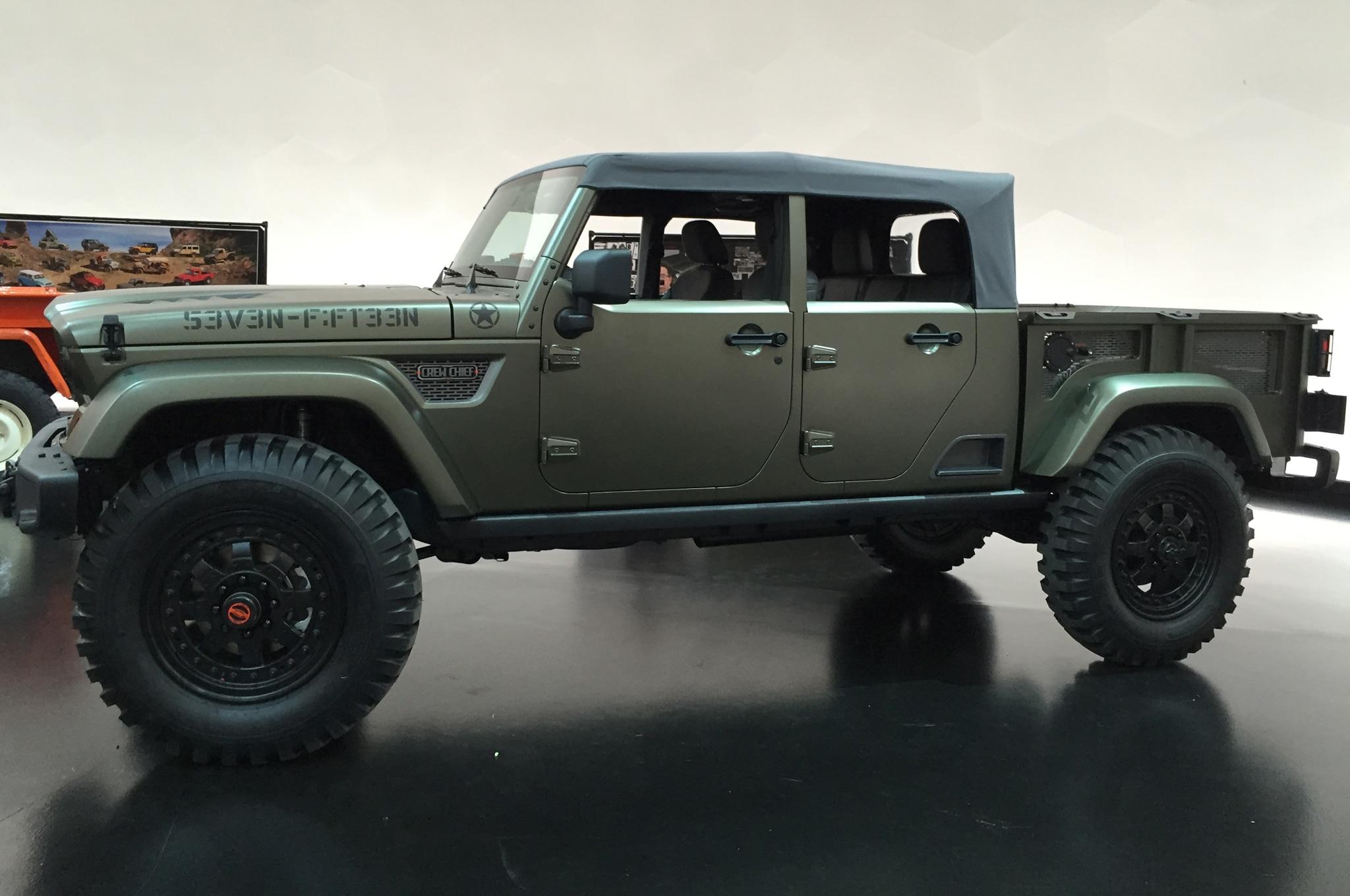 Estos son los conceptos del Easter Jeep Safari 2016
