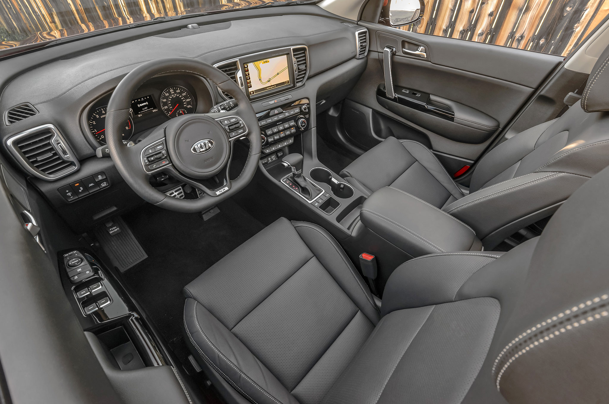 kia sportage 2017 recibe top safety pick. Black Bedroom Furniture Sets. Home Design Ideas