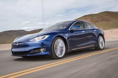 Tesla Model S P90d 2016 Manejo Rápido