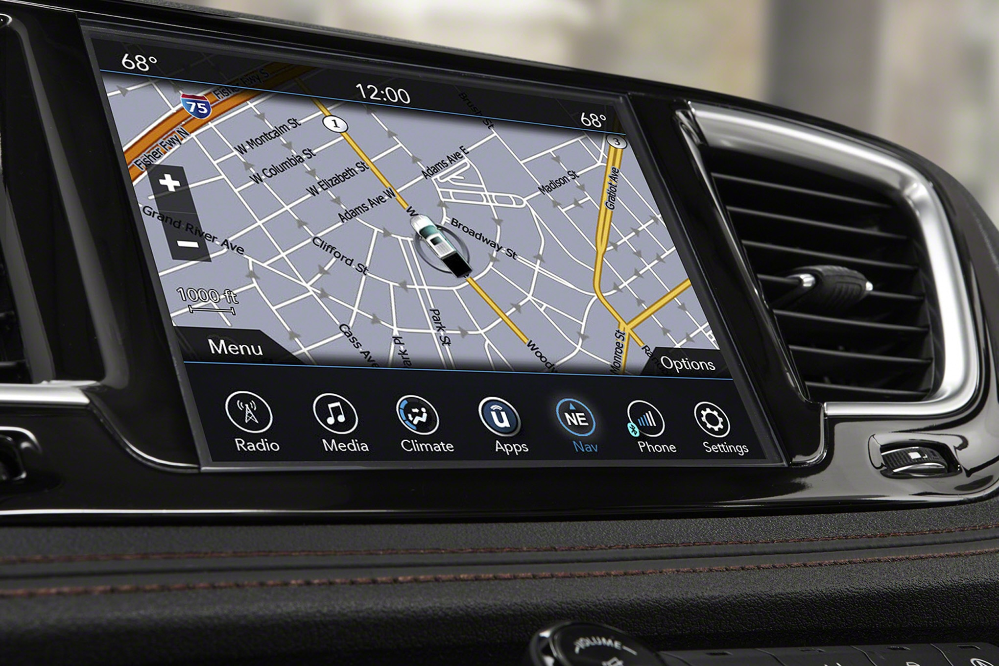 2017 Chrysler Pacifica Center Stack Navigation Screen 29 Junio 2016 Wpengine