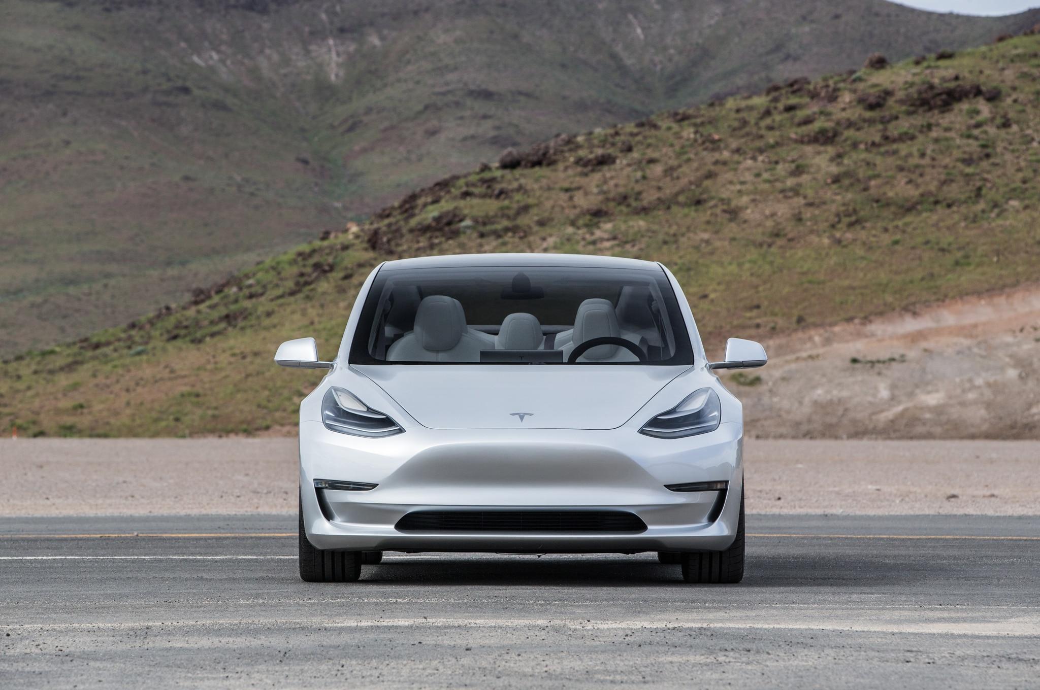2017 Tesla Model 3 Front End 29 Junio 2016 Wpengine