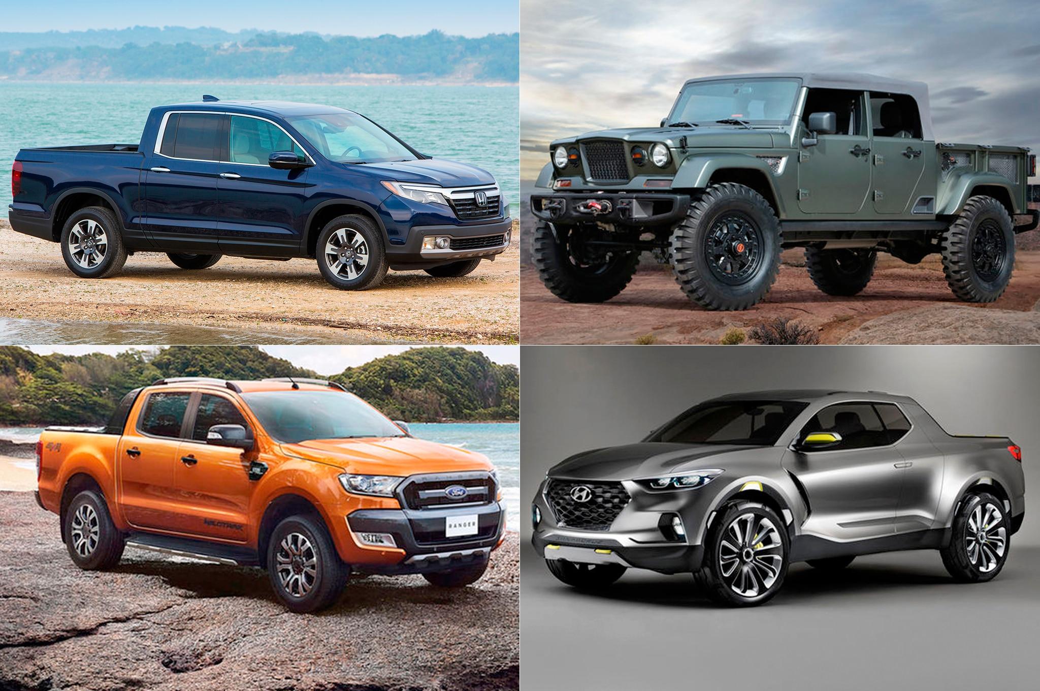 Desde Ford hasta Mercedes: las camionetas compactas