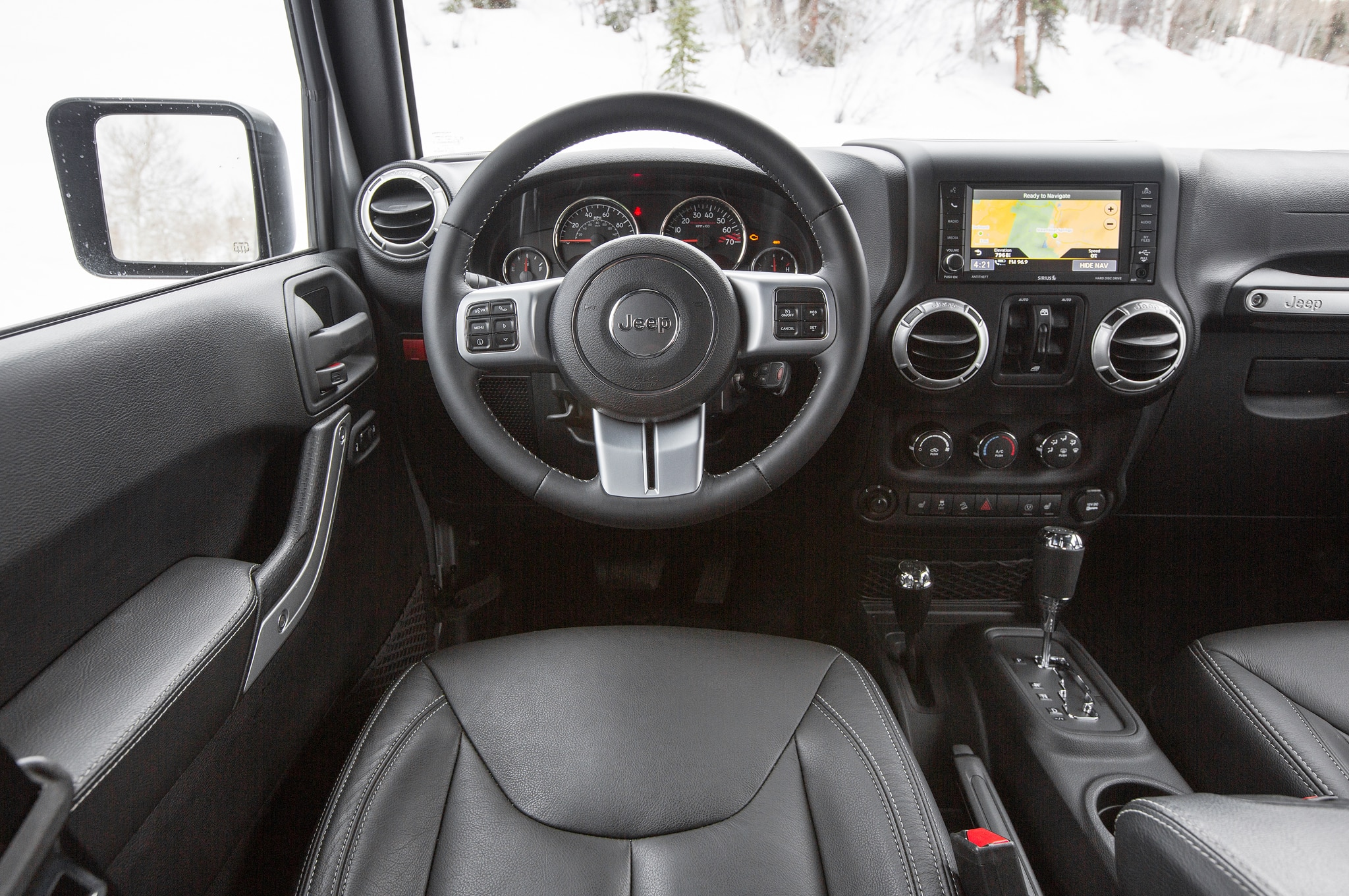 Jeep Wrangler 2016 Interior >> Jeep Wrangler Unlimited Rubicon 2016: Primera Prueba