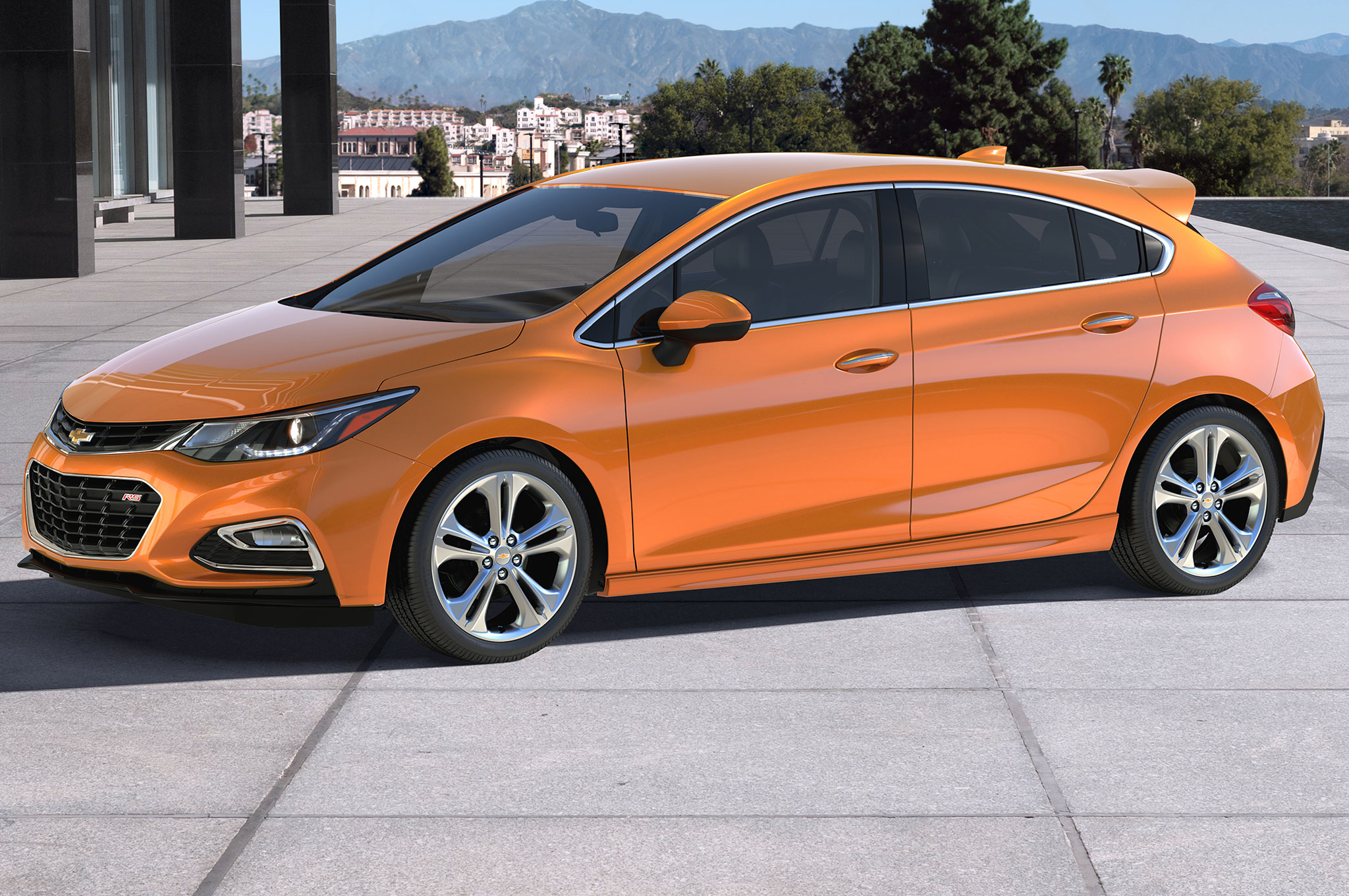 Chevrolet Cruze hatchback inicia desde $22,190 dólares