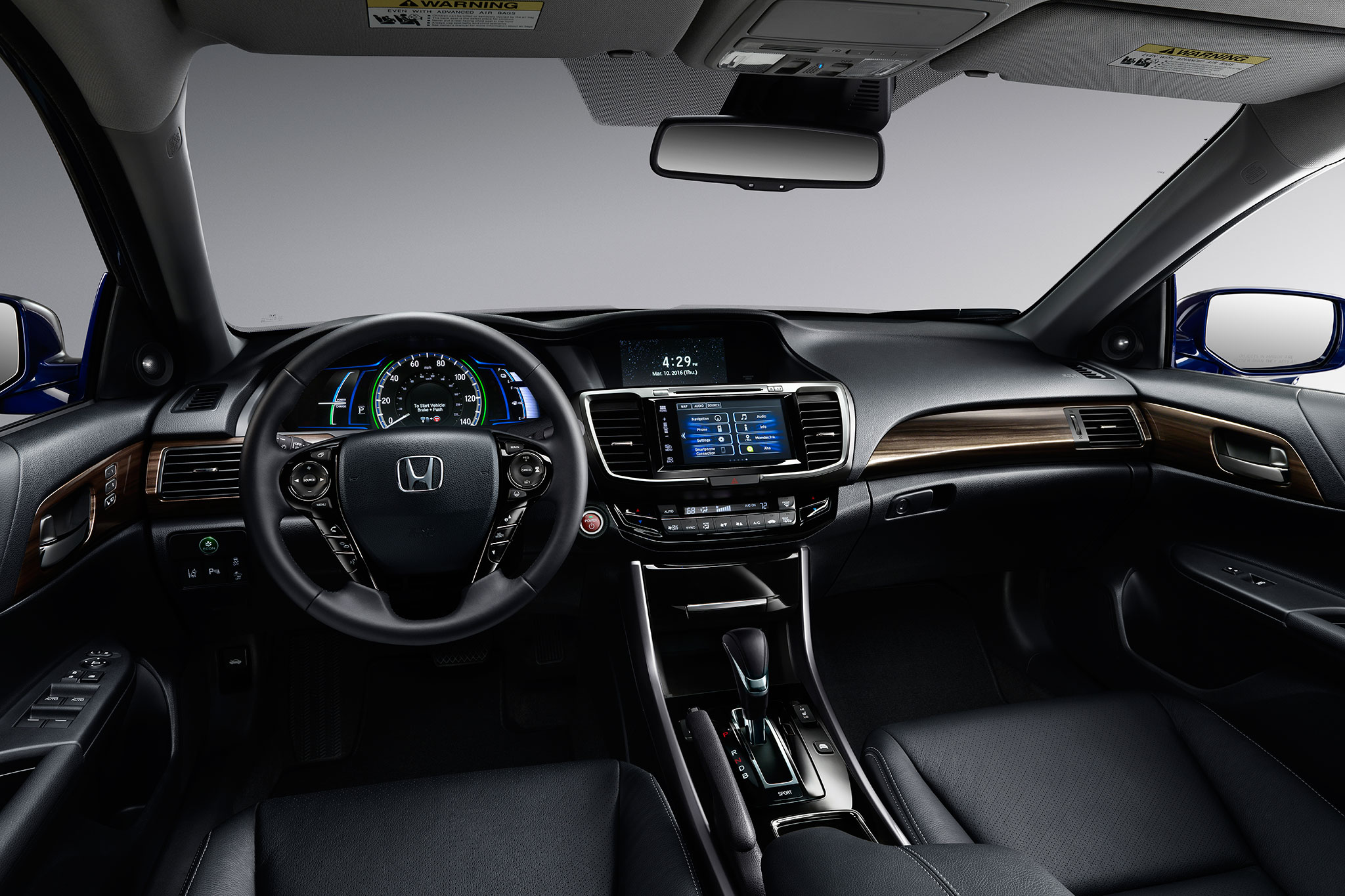 2017 Honda Accord Hybrid Cabin