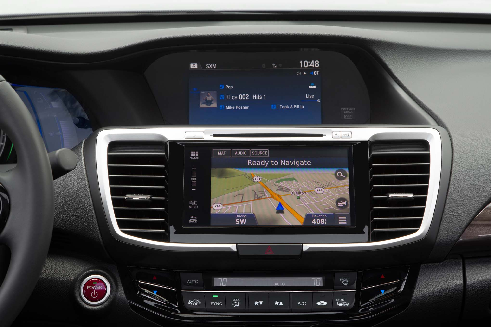 2017 Honda Accord Hybrid Center Stack Navigation