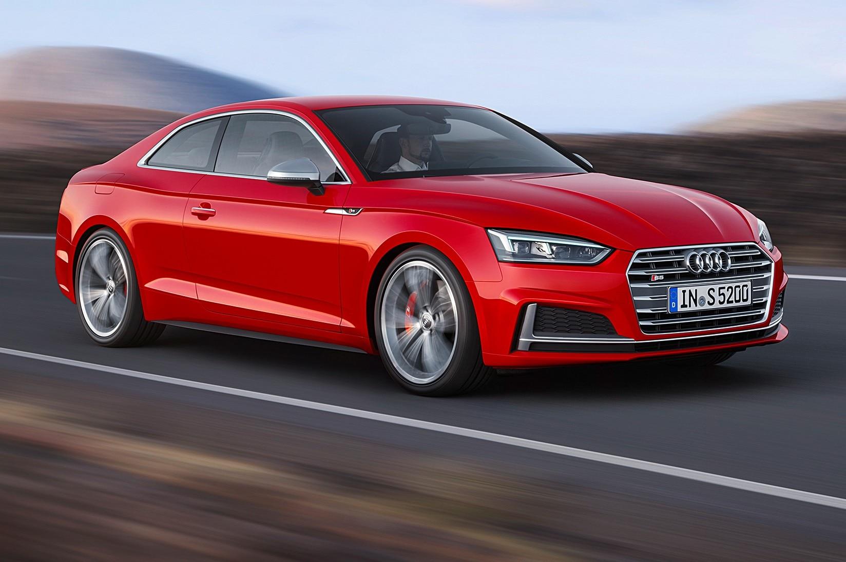 Audi A5 Y S5 2018 Primer Vistazo