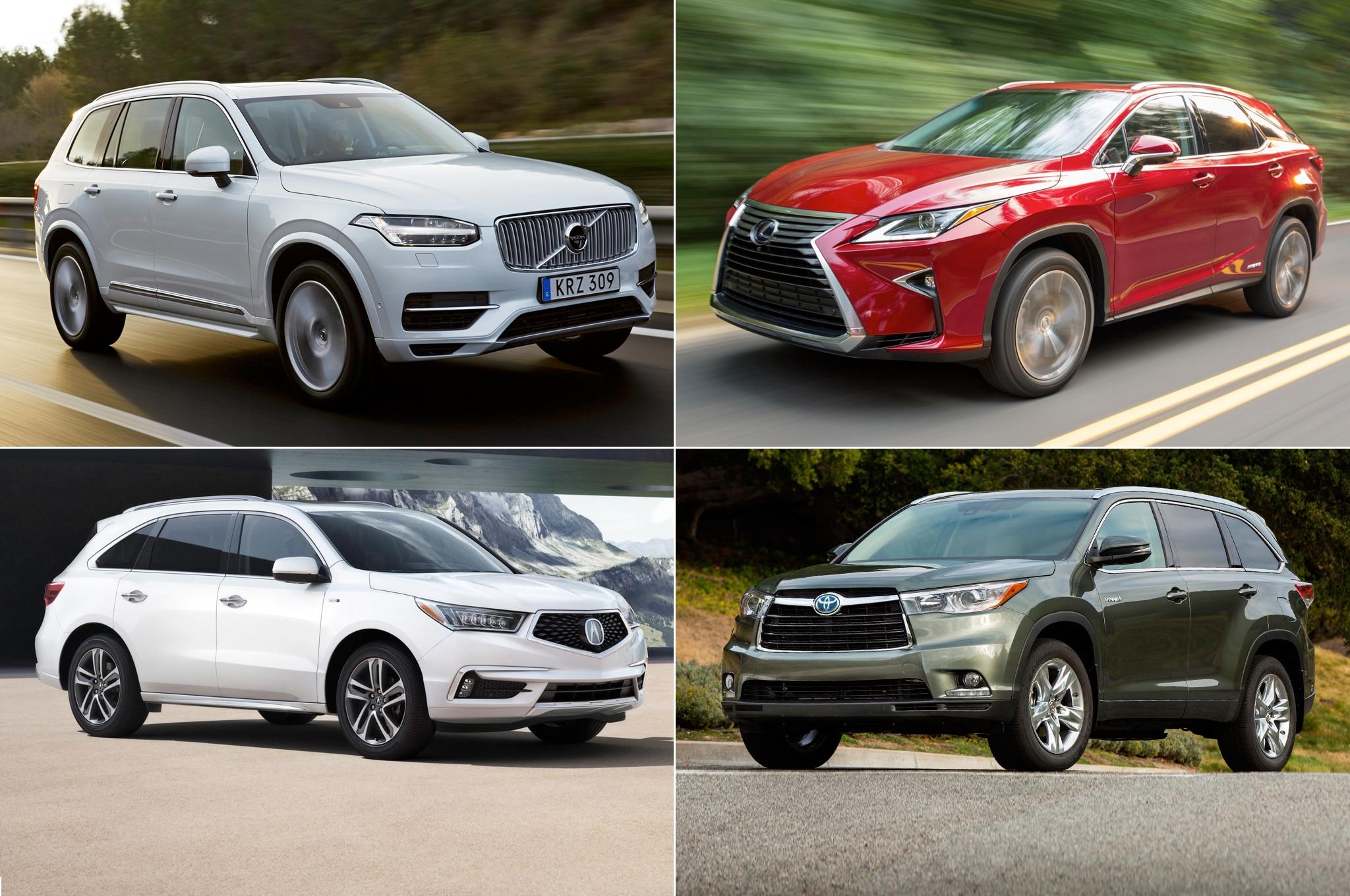 11 Hybrid SUVs And CUVs 1