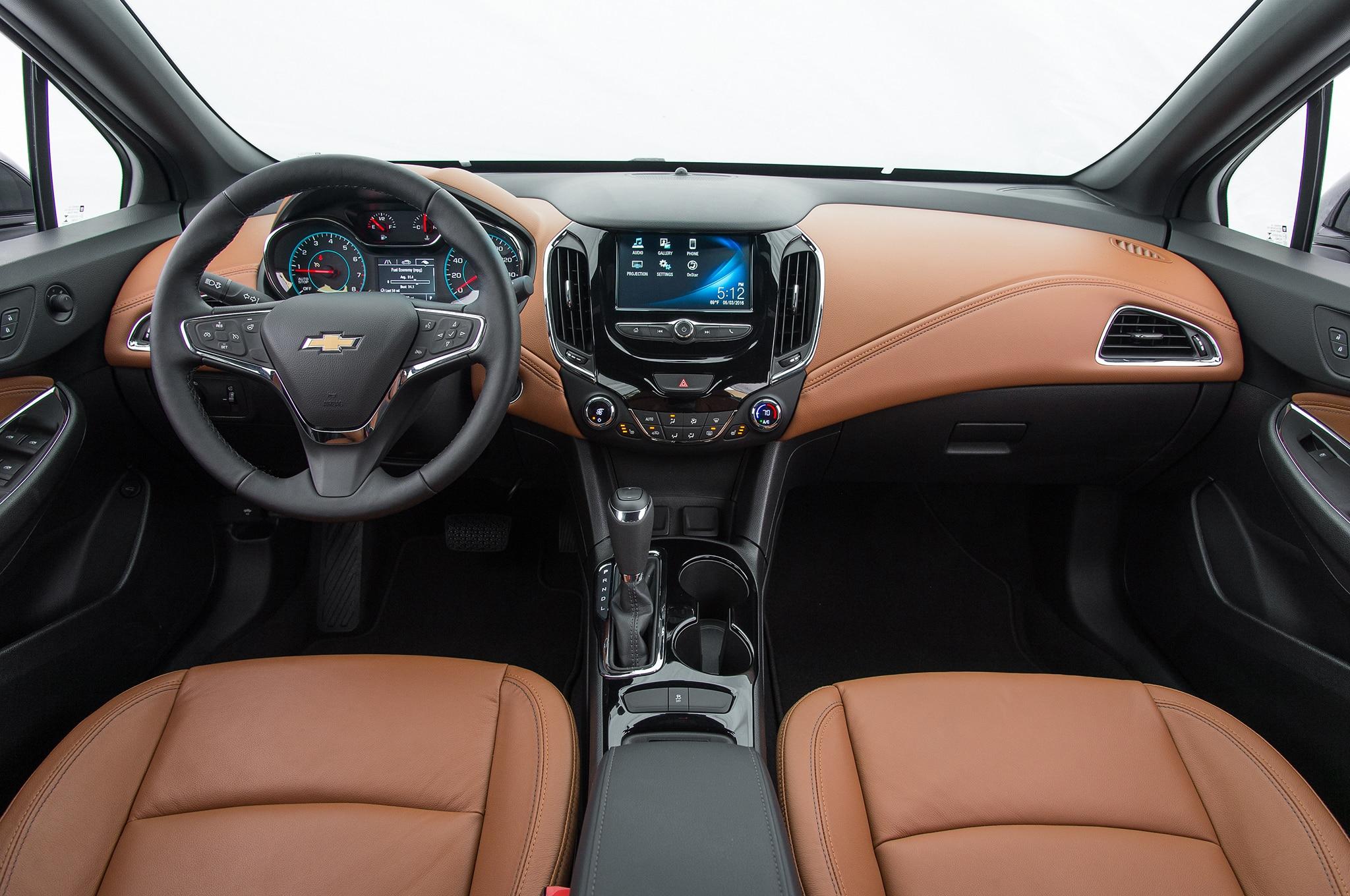 Chevrolet Cruze Premier 2016: Primera Prueba