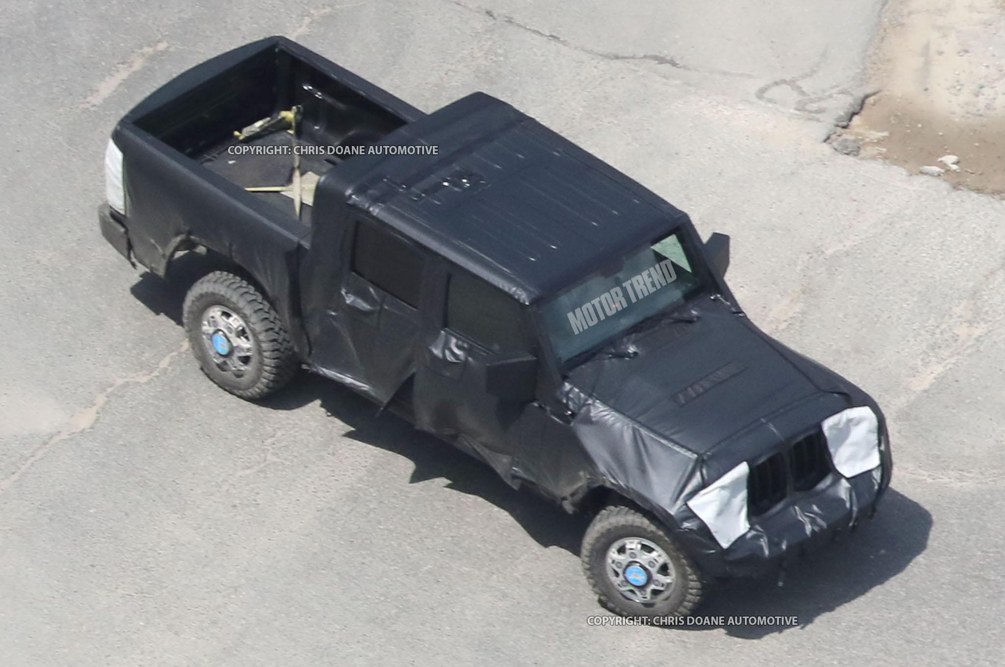 Camioneta Jeep Wrangler Es Captada Por Primera Vez