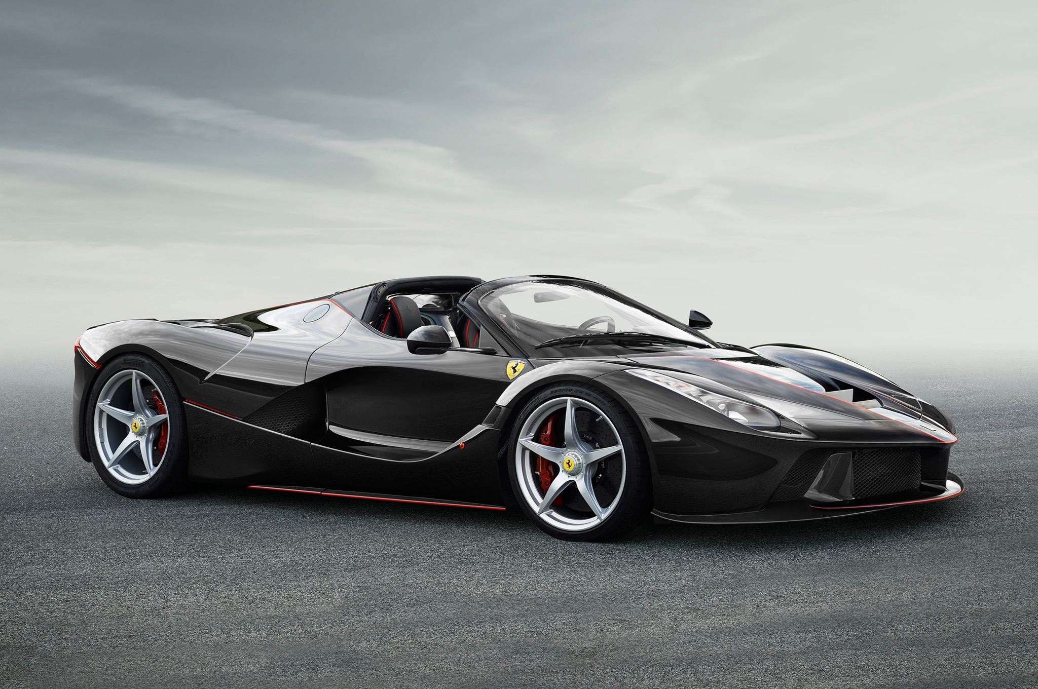 LaFerrari Spider Front Three Quarters 1