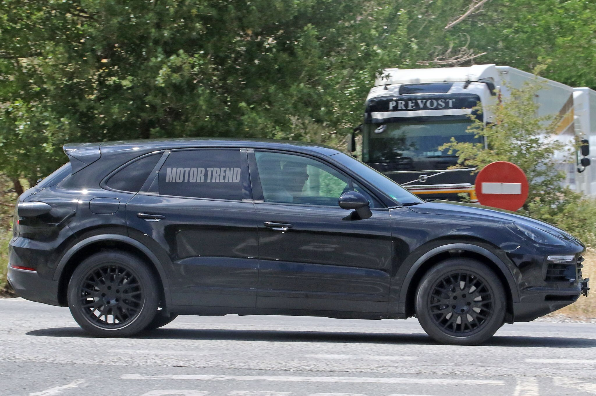 Next Gen Porsche Cayenne Side Close Up