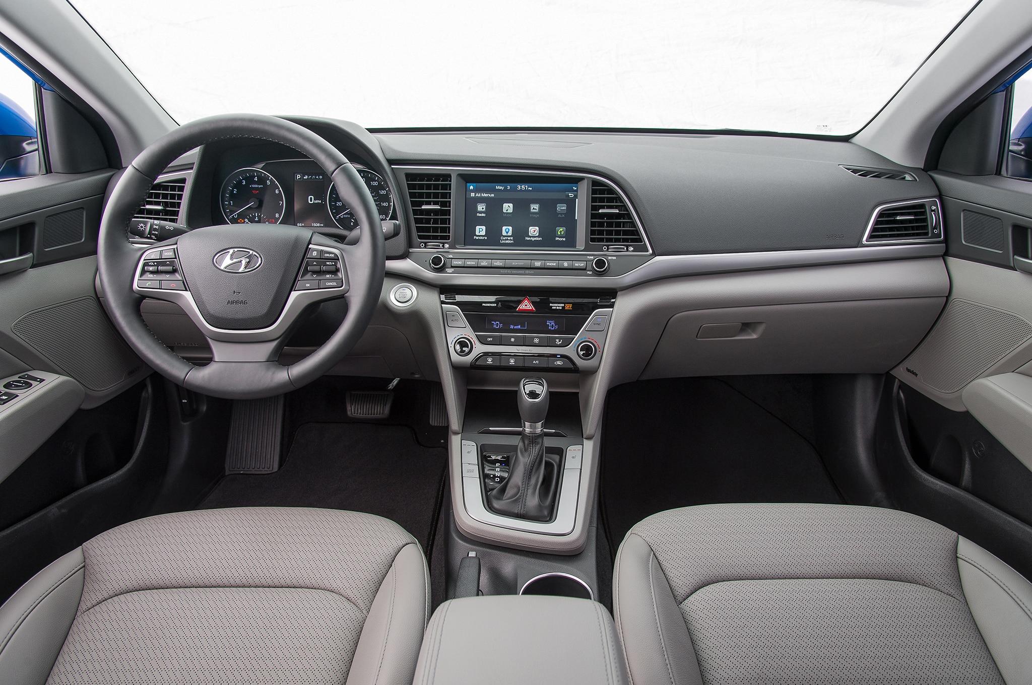 2016 Hyundai Elantra Limited Interior 15 Agosto Wpengine