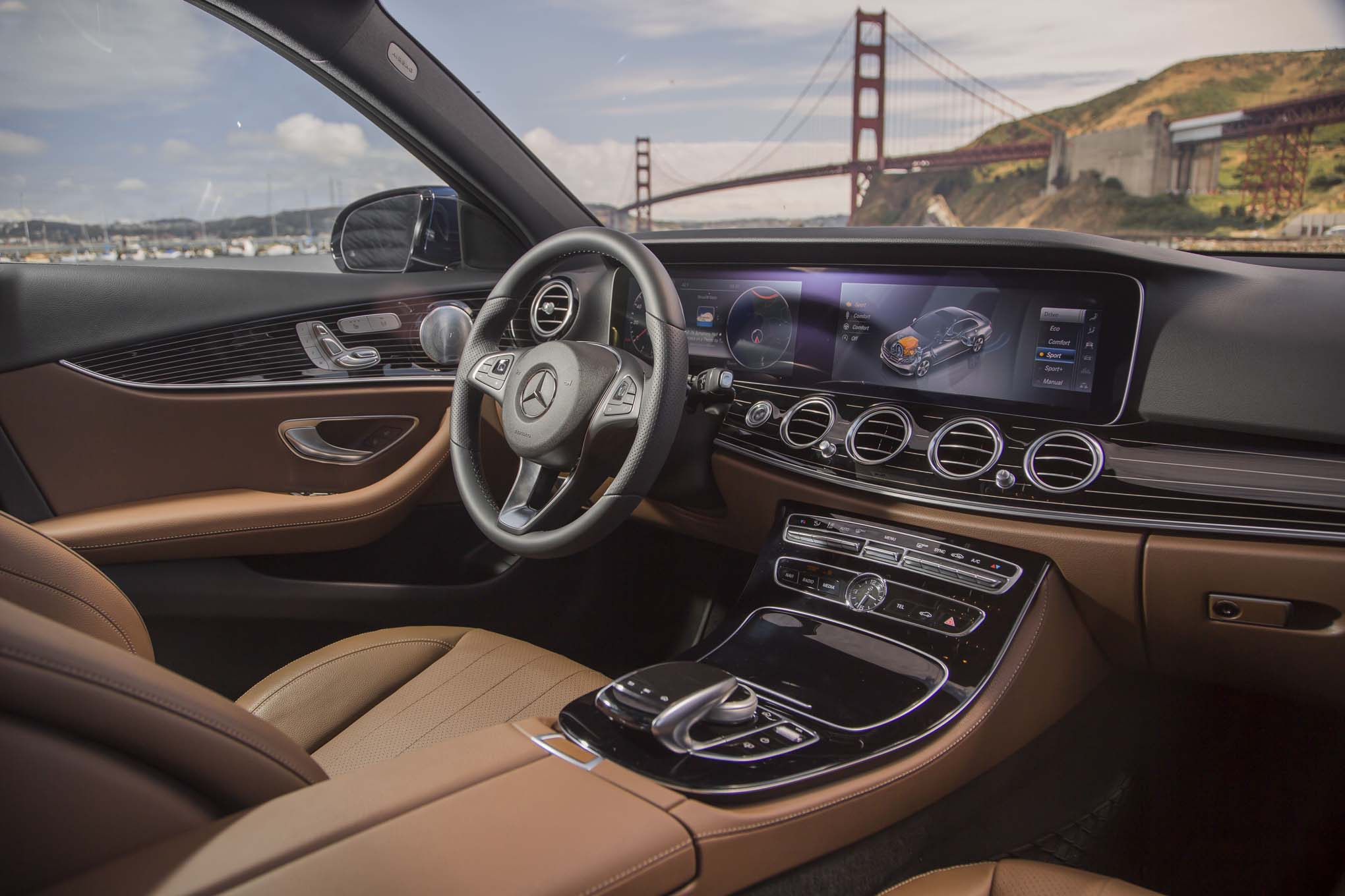 Mercedes Benz E300 4matic 2017 Primera Prueba Motor