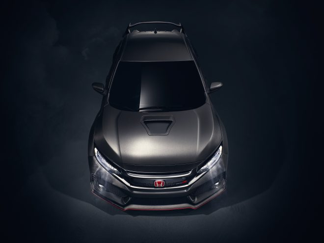 05 Civic Type R Prototype Dead Front High