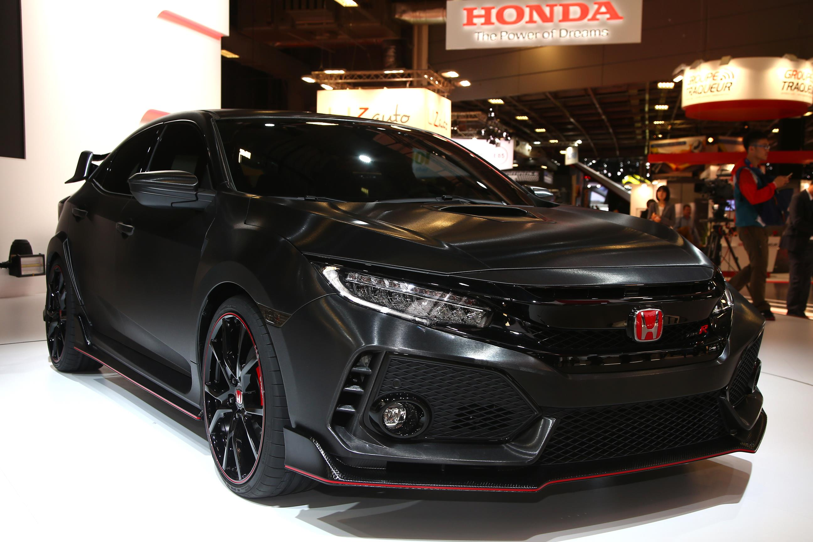 Honda Civic Type R Prototype 1