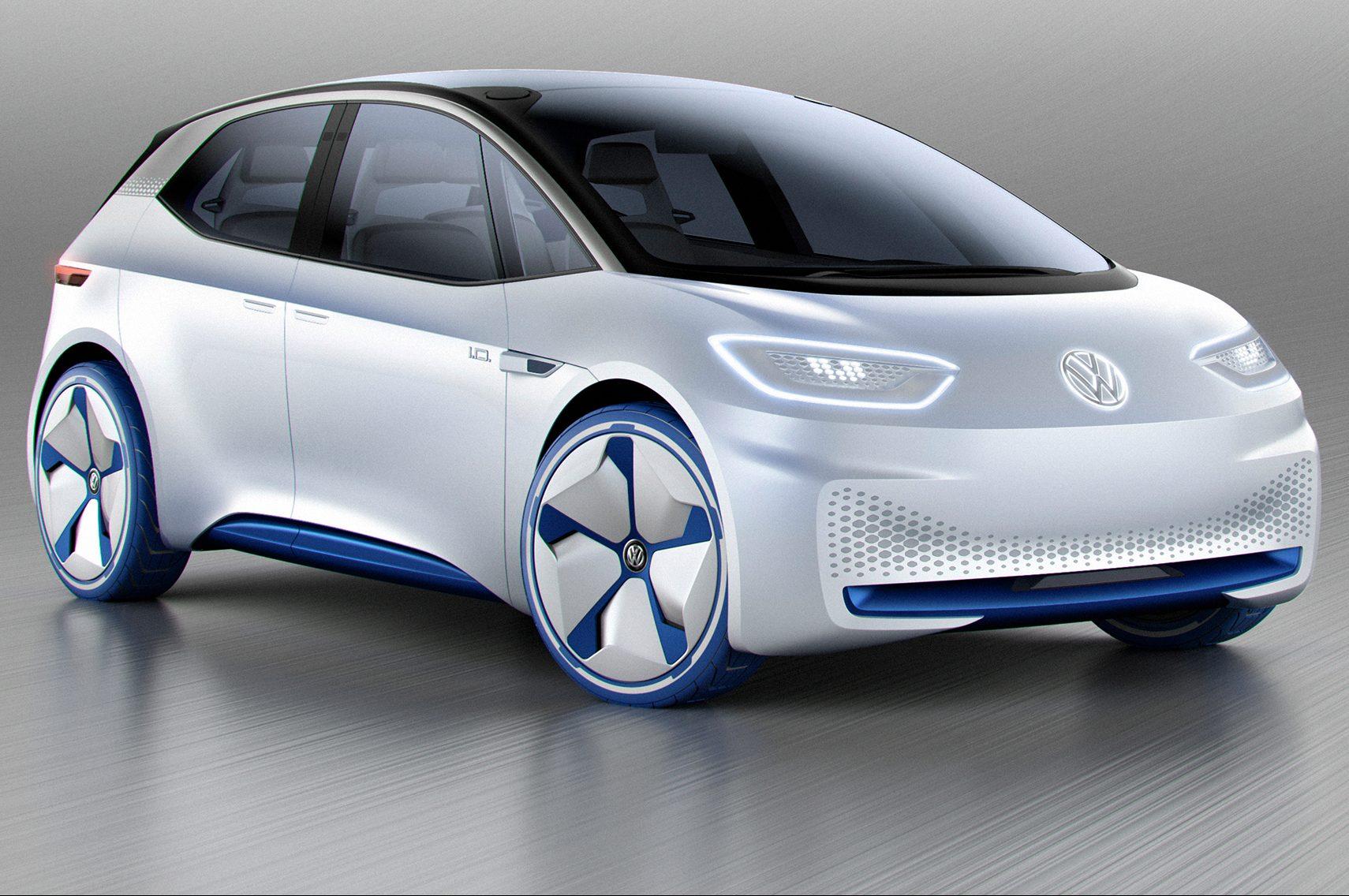 Volkswagen I D Concept Front Three Quarter E1475081177625