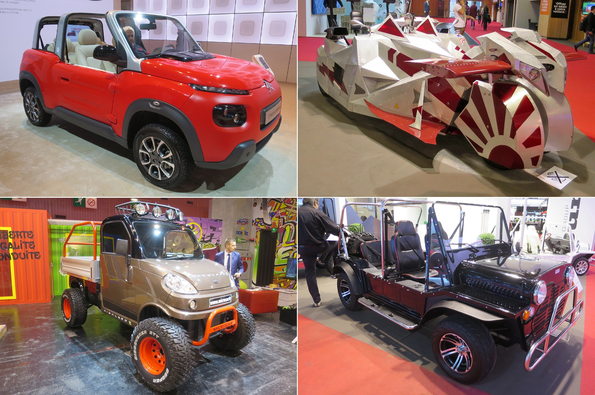 Weird And Wondrous Cars Of The 2016 Paris Auto Show