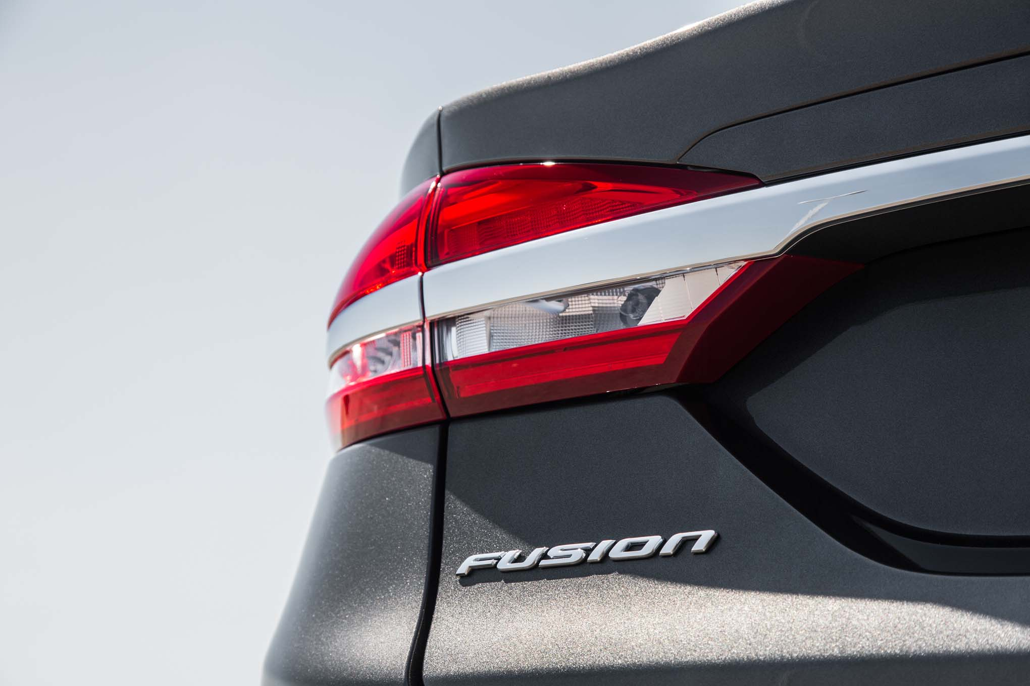 2017 Ford Fusion Se Ecoboost Rear Taillight 1