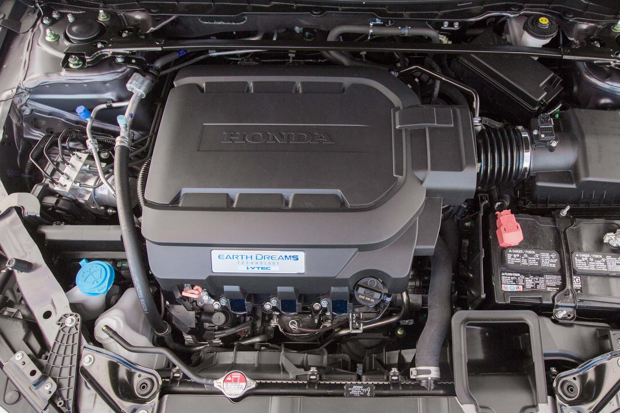2017 Honda Accord V6 Touring Engine 1