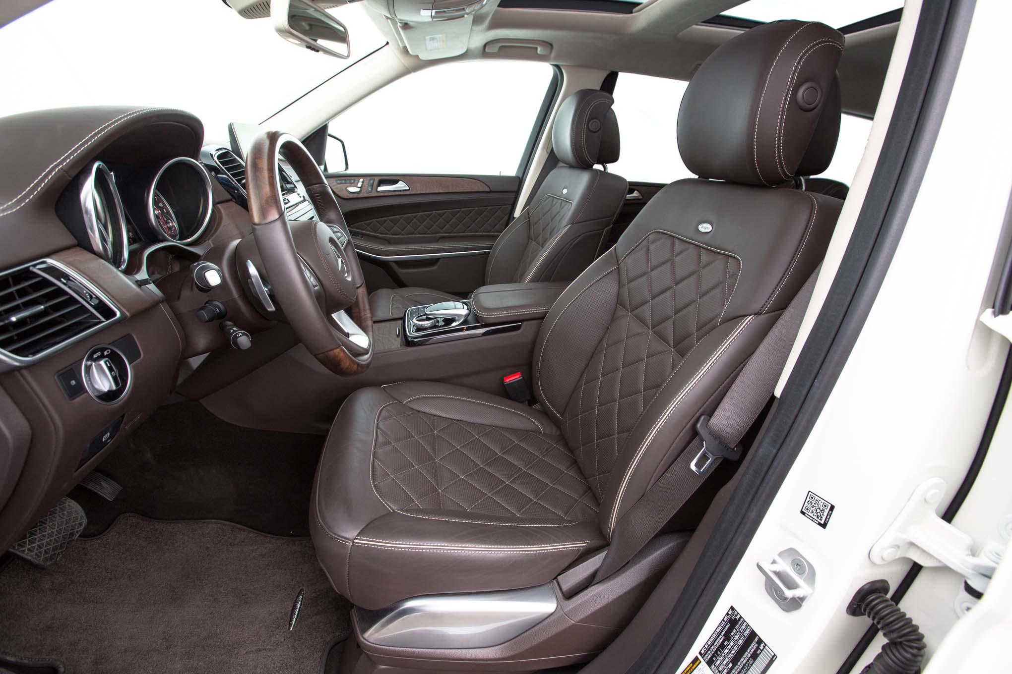 Acura Mdx Interior >> Mercedes-Benz Clase GLS: Contendiente a la SUV del Año de ...