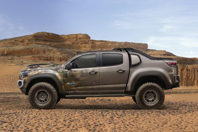 Chevrolet Colorado ZH2 FuelCell ElectricVehicle 003