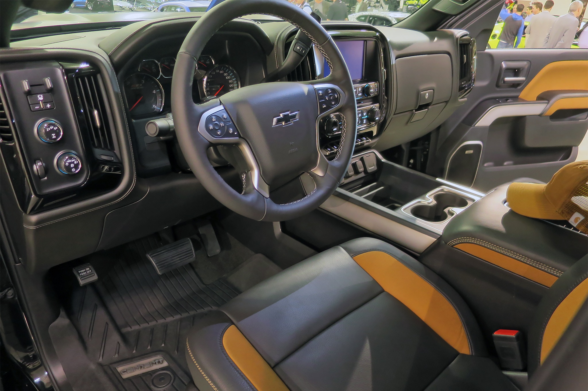 Chevrolet Silverado HD Carhartt Concept se revela antes de ...