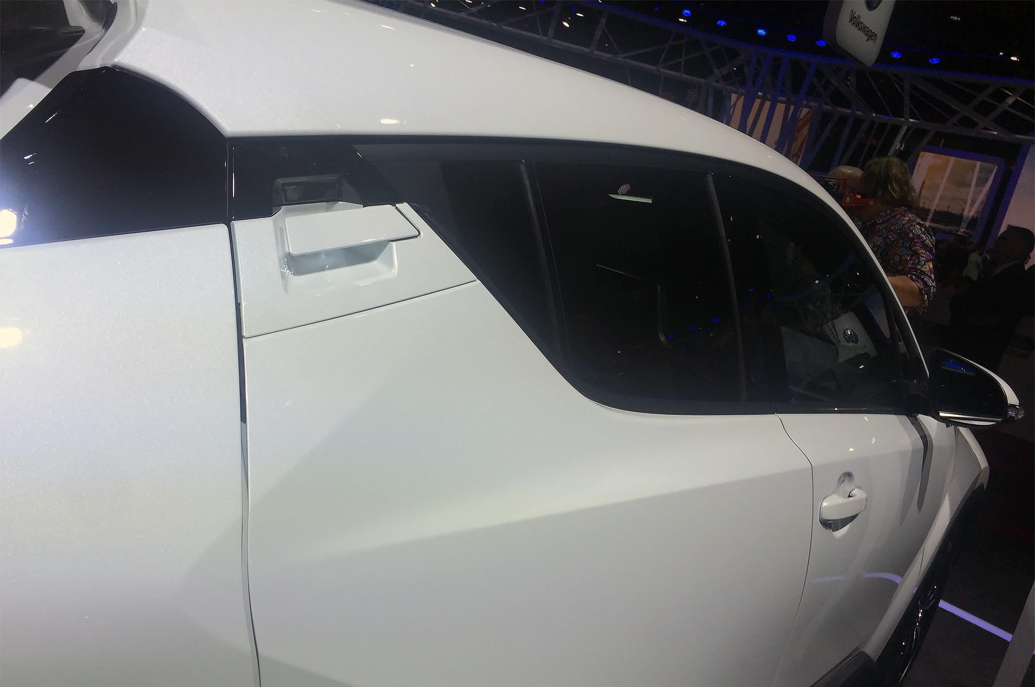 Toyota CH R rear door handle