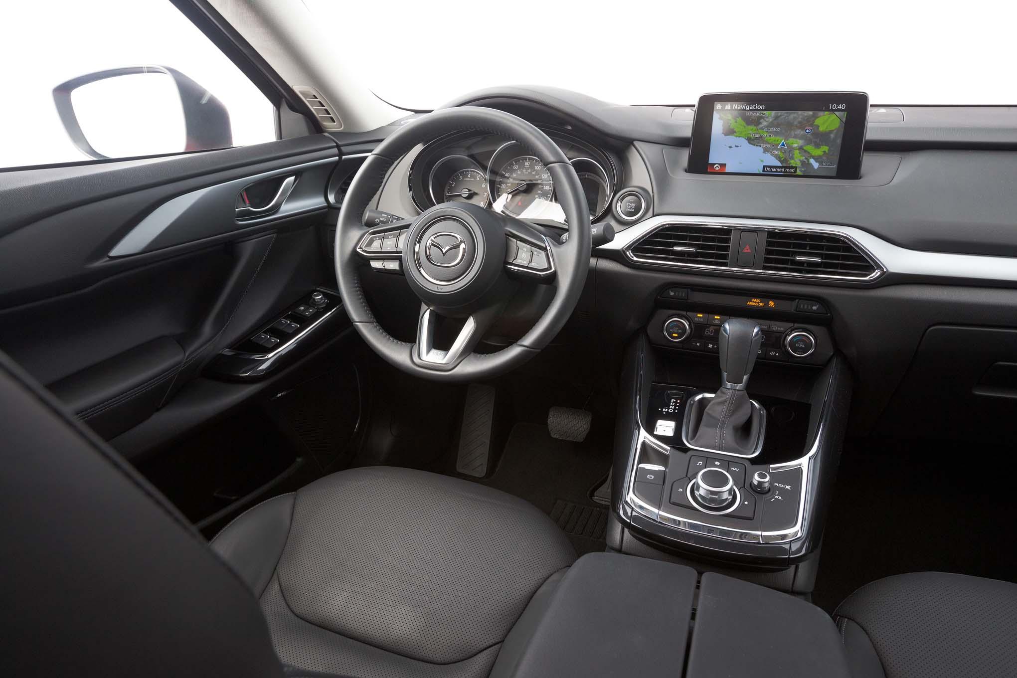 Interior Look Mazda  Cx  Touring Fwd