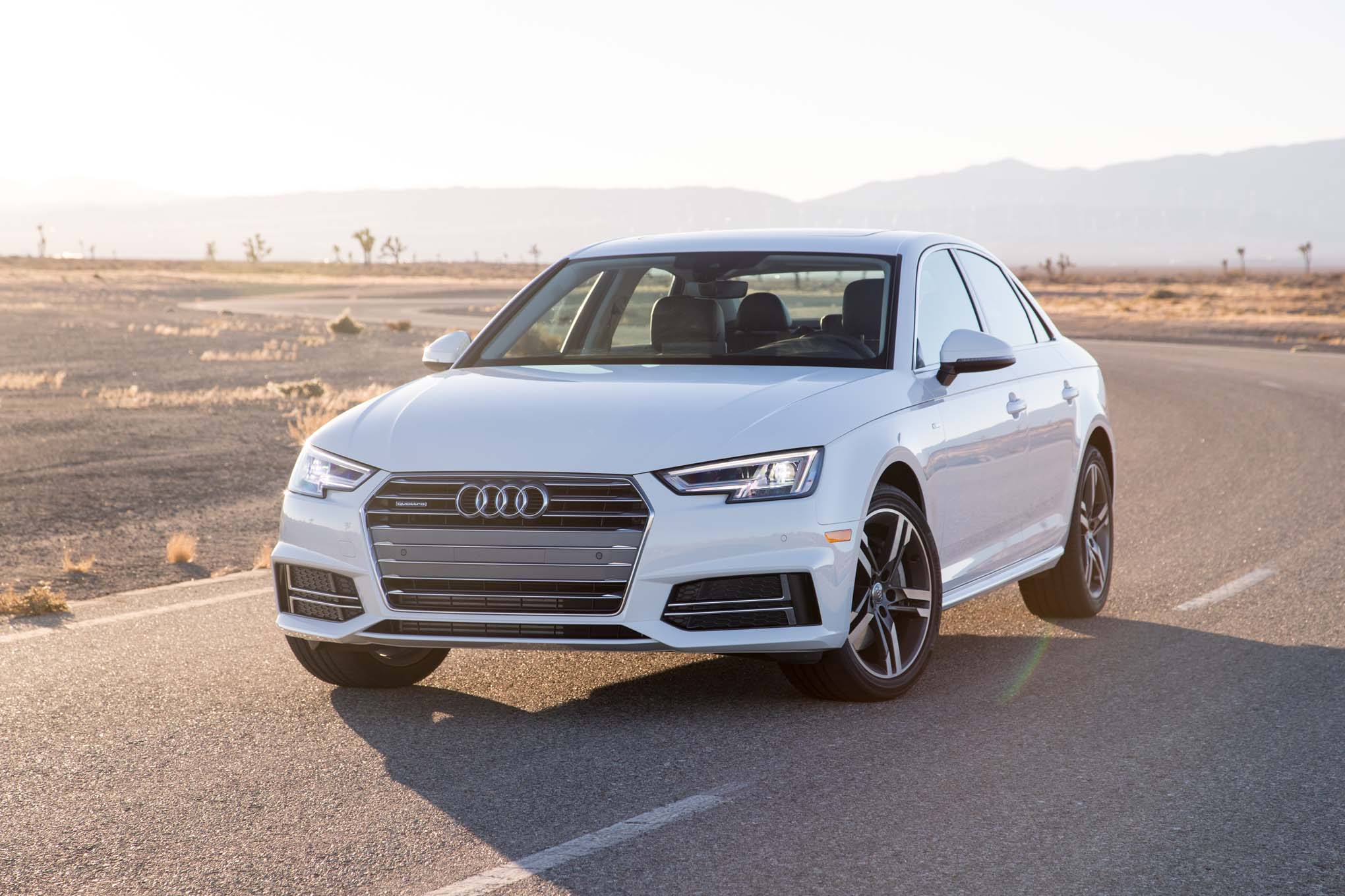 2017 Audi A4 Quattro front three quarter