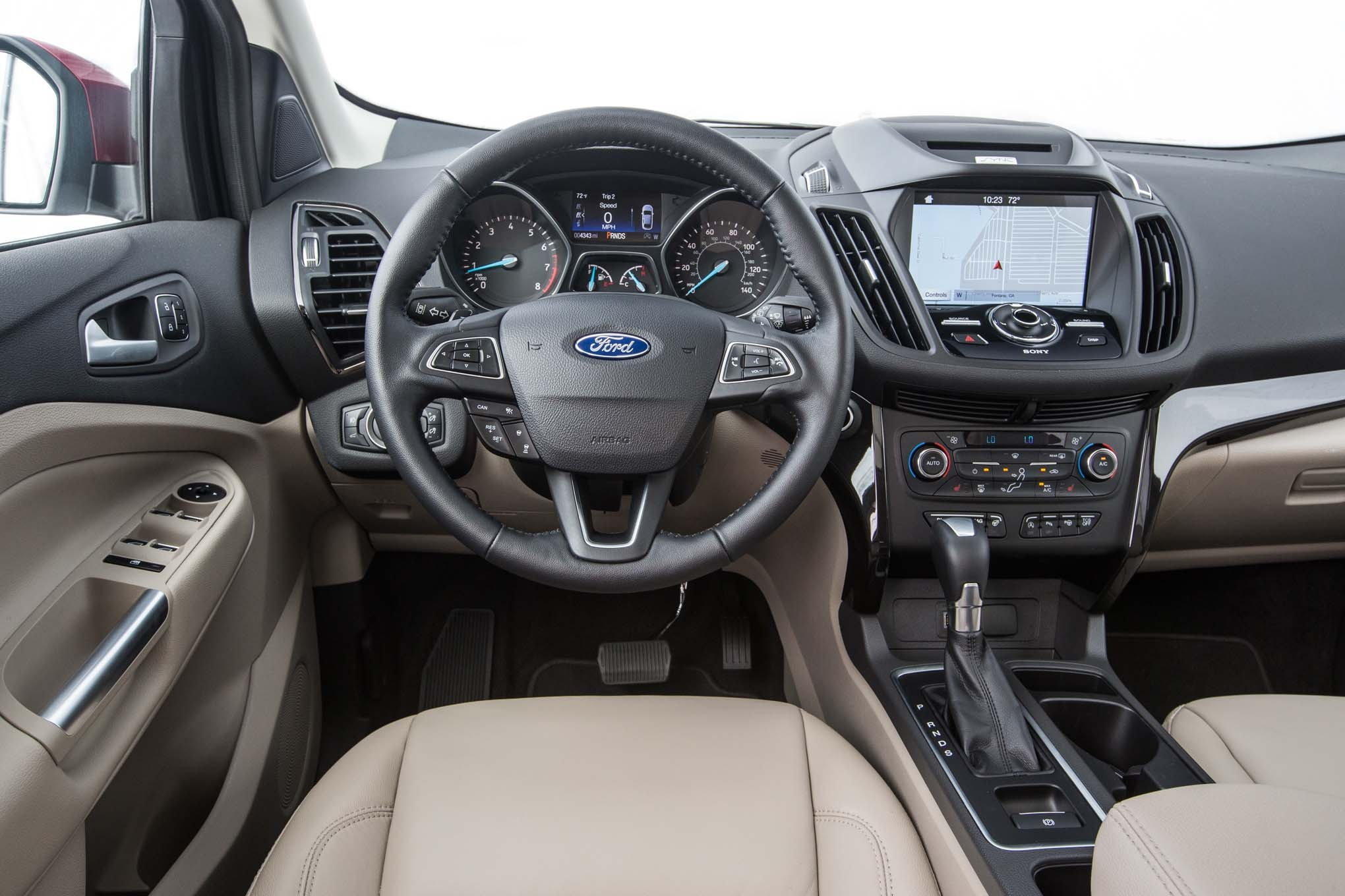 2017 Ford Escape Titanium 20 Ecoboost Cockpit Motor